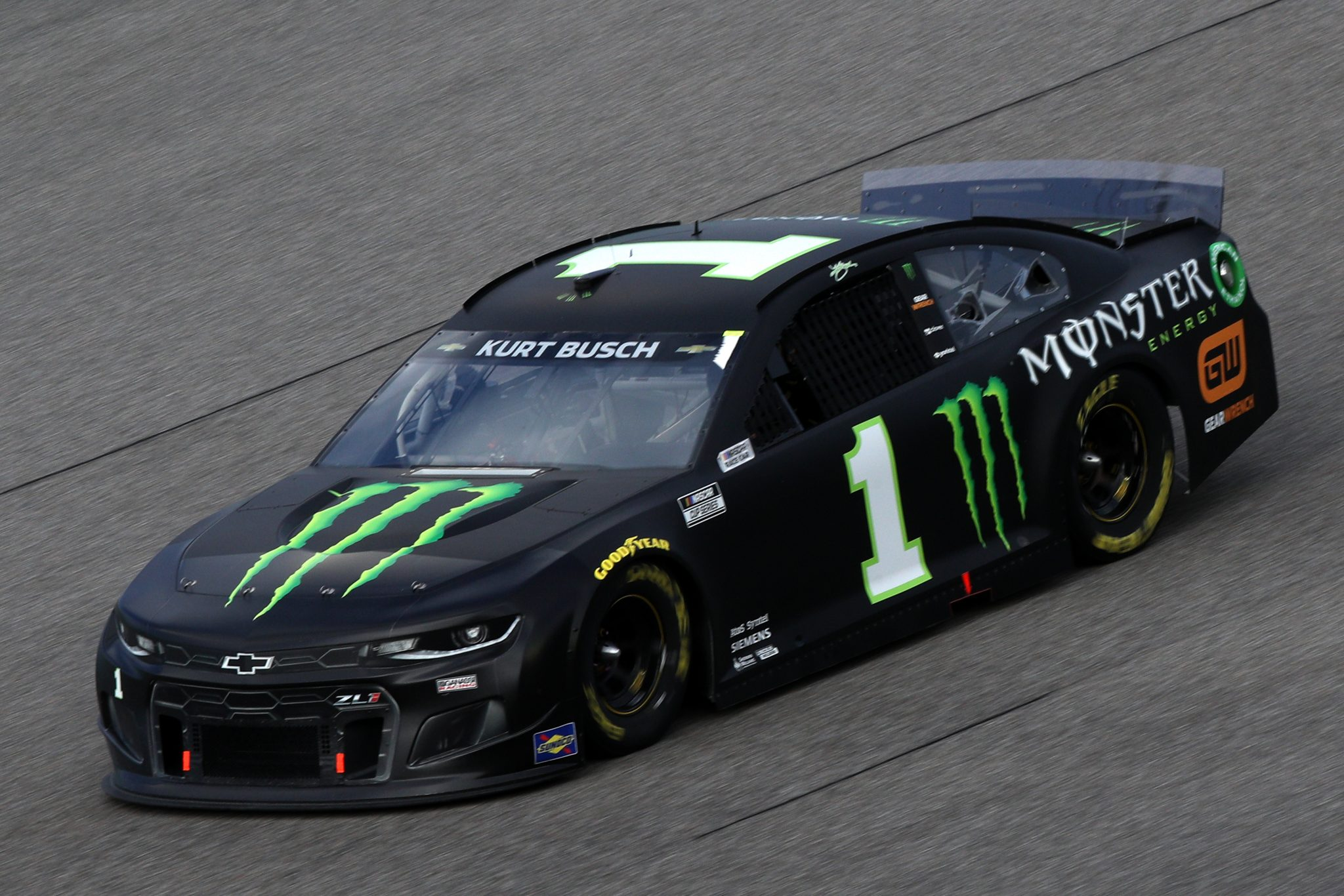 HOMESTEAD, FLORIDA - FEBRUARY 28: Kurt Busch, driver of the #1 Monster Energy Chevrolet, drives during the NASCAR Cup Series Dixie Vodka 400 at Homestead-Miami Speedway on February 28, 2021 in Homestead, Florida. (Photo by Sean Gardner/Getty Images) | Getty Images