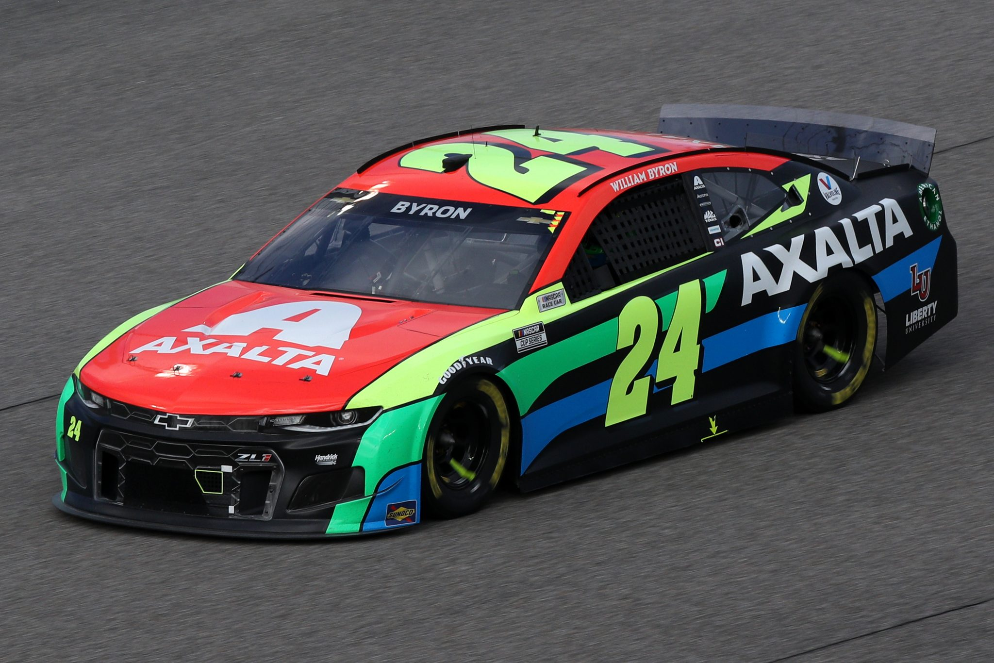 HOMESTEAD, FLORIDA - FEBRUARY 28: William Byron, driver of the #24 Axalta Chevrolet, drives during the NASCAR Cup Series Dixie Vodka 400 at Homestead-Miami Speedway on February 28, 2021 in Homestead, Florida. (Photo by Sean Gardner/Getty Images) | Getty Images