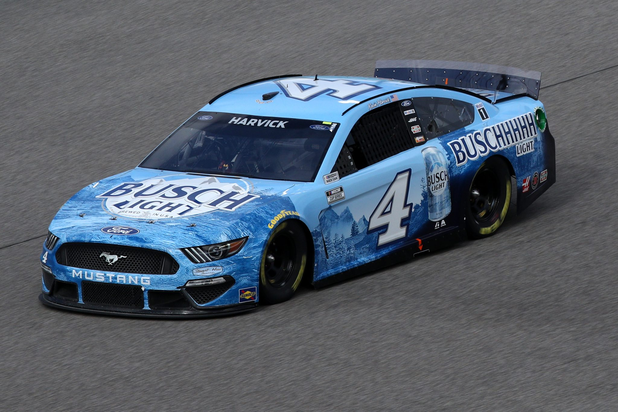 HOMESTEAD, FLORIDA - FEBRUARY 28: Kevin Harvick, driver of the #4 Busch Light Ford, drives during the NASCAR Cup Series Dixie Vodka 400 at Homestead-Miami Speedway on February 28, 2021 in Homestead, Florida. (Photo by Sean Gardner/Getty Images) | Getty Images