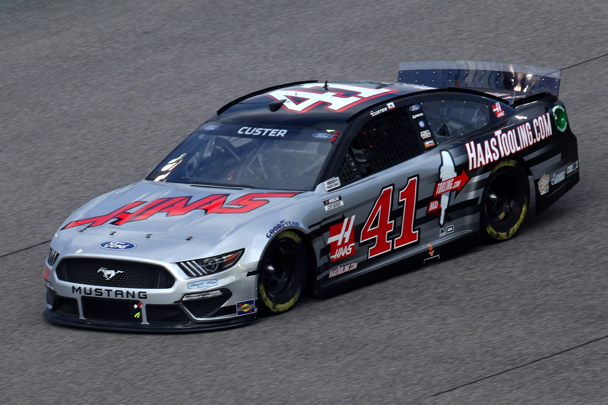 HOMESTEAD, FLORIDA - FEBRUARY 28: Cole Custer, driver of the #41 HaasTooling.com Ford, drives during the NASCAR Cup Series Dixie Vodka 400 at Homestead-Miami Speedway on February 28, 2021 in Homestead, Florida. (Photo by Sean Gardner/Getty Images) | Getty Images