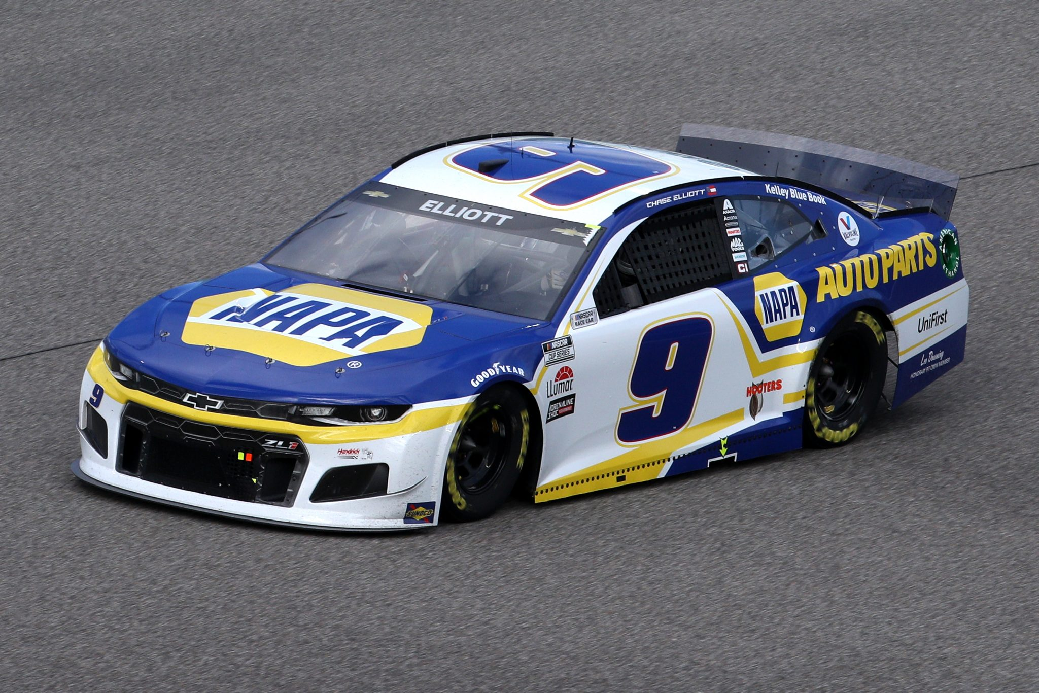 HOMESTEAD, FLORIDA - FEBRUARY 28: Chase Elliott, driver of the #9 NAPA Auto Parts Chevrolet, drives during the NASCAR Cup Series Dixie Vodka 400 at Homestead-Miami Speedway on February 28, 2021 in Homestead, Florida. (Photo by Sean Gardner/Getty Images) | Getty Images