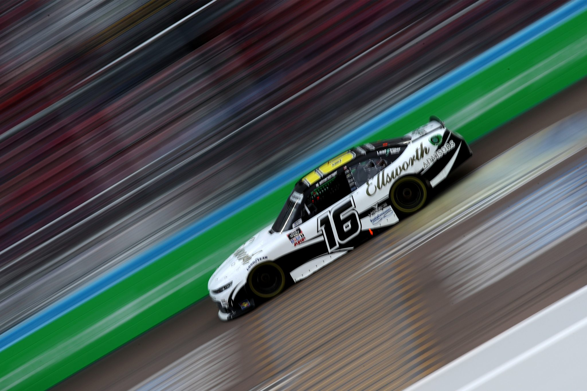 AVONDALE, ARIZONA - MARCH 13: AJ Allmendinger, driver of the #16 Ellsworth Advisors Chevrolet, drives during the NASCAR Xfinity Series Call 811 Before You Dig 200 presented by Arizona 811 at Phoenix Raceway on March 13, 2021 in Avondale, Arizona. (Photo by Sean Gardner/Getty Images) | Getty Images