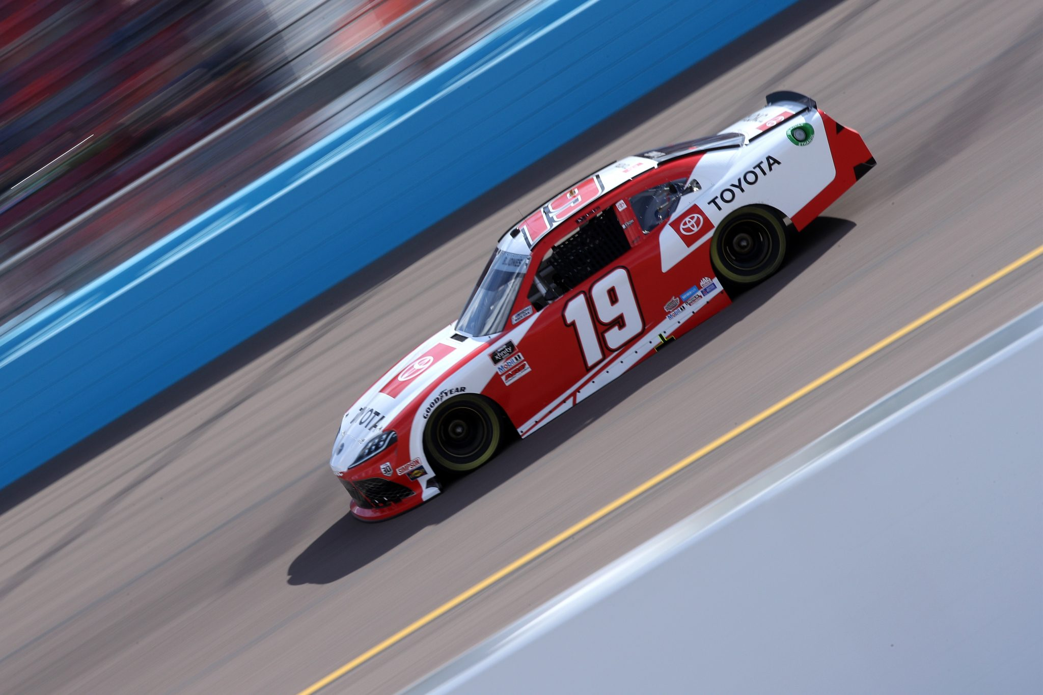 AVONDALE, ARIZONA - MARCH 13: Brandon Jones, driver of the #19 Toyota Toyota, drives during the NASCAR Xfinity Series Call 811 Before You Dig 200 presented by Arizona 811 at Phoenix Raceway on March 13, 2021 in Avondale, Arizona. (Photo by Sean Gardner/Getty Images) | Getty Images