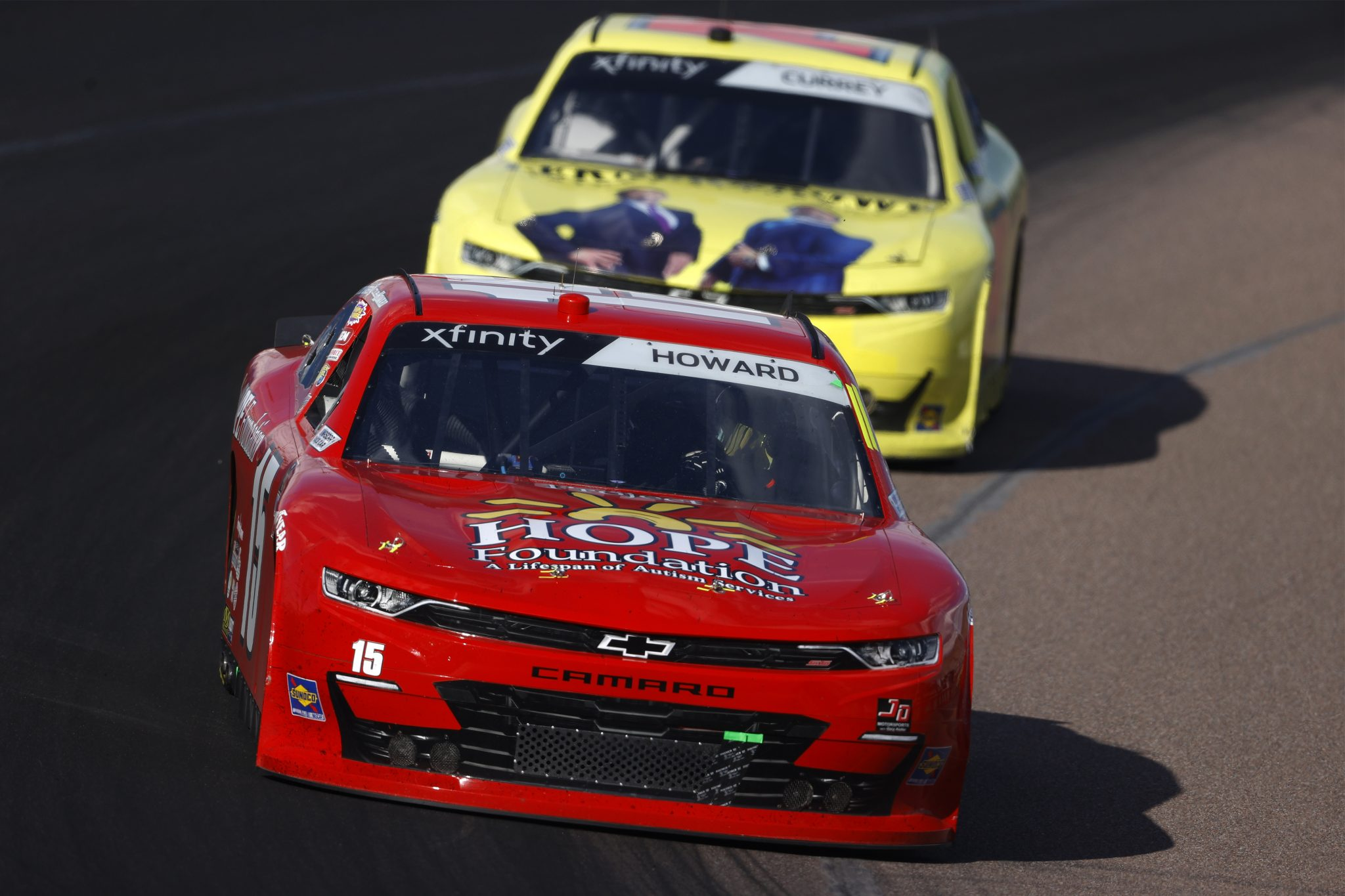 AVONDALE, ARIZONA - MARCH 13: Colby Howard, driver of the #15 Project Hope Foundation Chevrolet, drives during the NASCAR Xfinity Series Call 811 Before You Dig 200 presented by Arizona 811 at Phoenix Raceway on March 13, 2021 in Avondale, Arizona. (Photo by Christian Petersen/Getty Images) | Getty Images