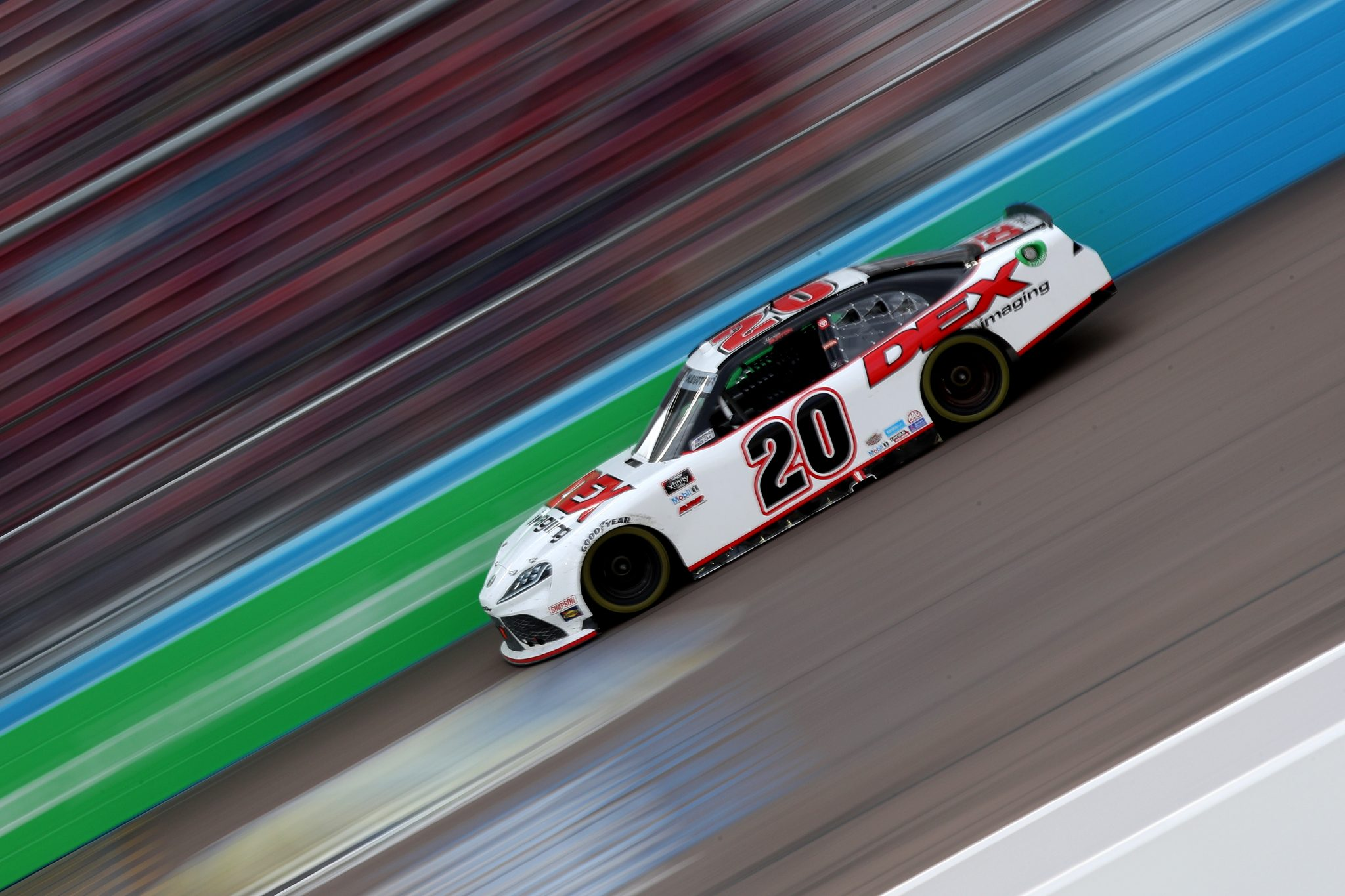 AVONDALE, ARIZONA - MARCH 13: Harrison Burton, driver of the #20 DEX Imaging Toyota, drives during the NASCAR Xfinity Series Call 811 Before You Dig 200 presented by Arizona 811 at Phoenix Raceway on March 13, 2021 in Avondale, Arizona. (Photo by Sean Gardner/Getty Images) | Getty Images
