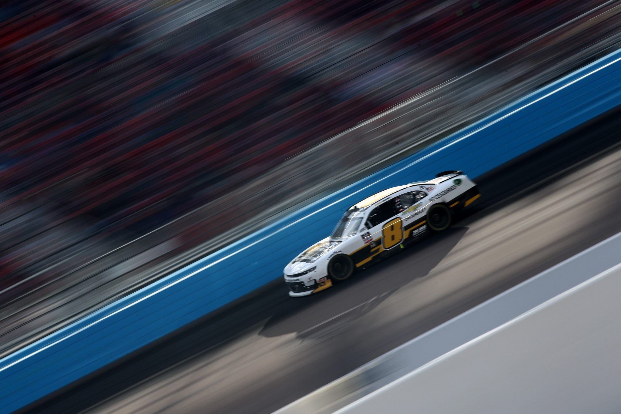 AVONDALE, ARIZONA - MARCH 13: Josh Berry, driver of the #8 Chevrolet Accessories Chevrolet, drives during the NASCAR Xfinity Series Call 811 Before You Dig 200 presented by Arizona 811 at Phoenix Raceway on March 13, 2021 in Avondale, Arizona. (Photo by Sean Gardner/Getty Images)   Getty Images