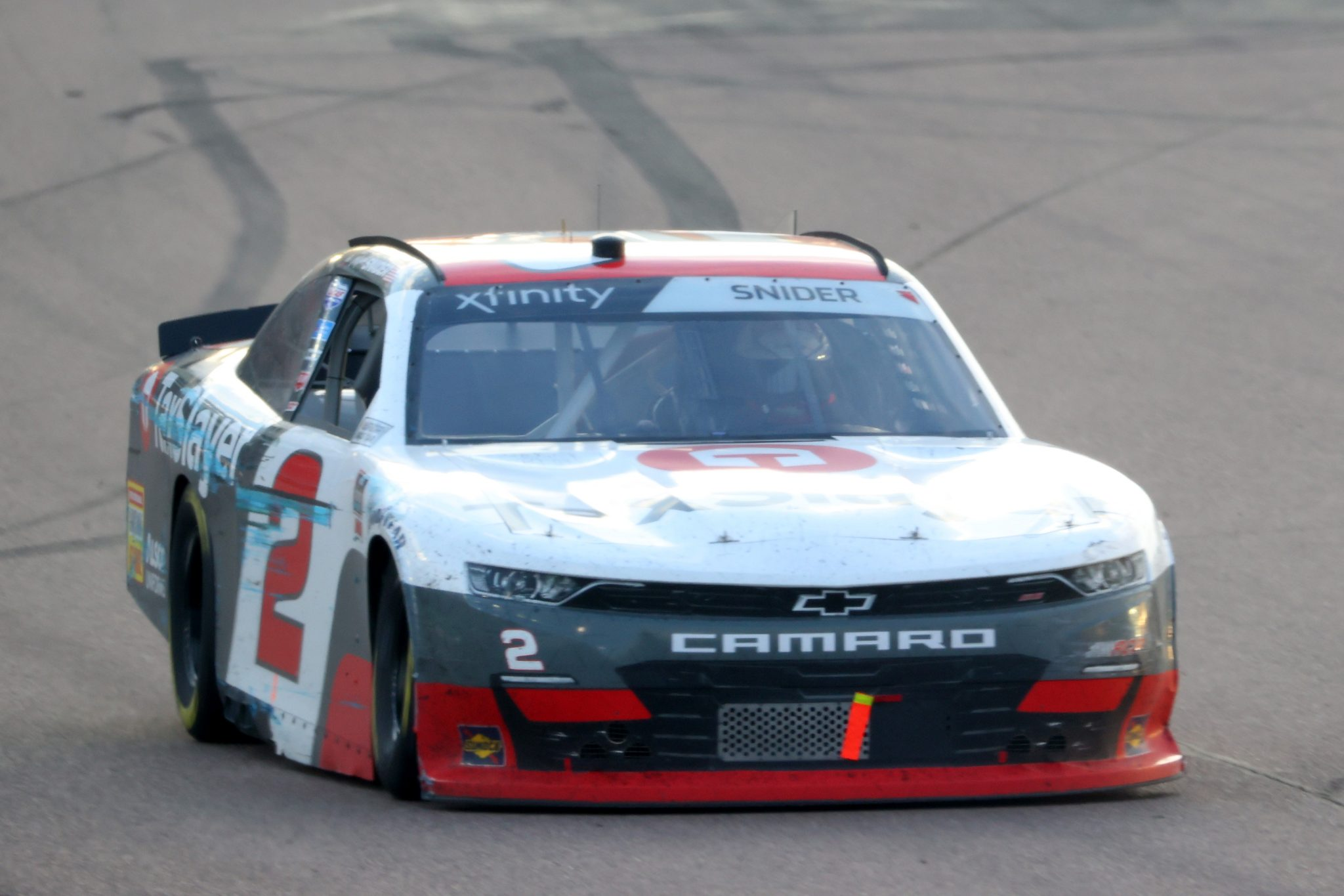 AVONDALE, ARIZONA - MARCH 13: Myatt Snider, driver of the #2 TaxSlayer Chevrolet, drives during the NASCAR Xfinity Series Call 811 Before You Dig 200 presented by Arizona 811 at Phoenix Raceway on March 13, 2021 in Avondale, Arizona. (Photo by Abbie Parr/Getty Images) | Getty Images