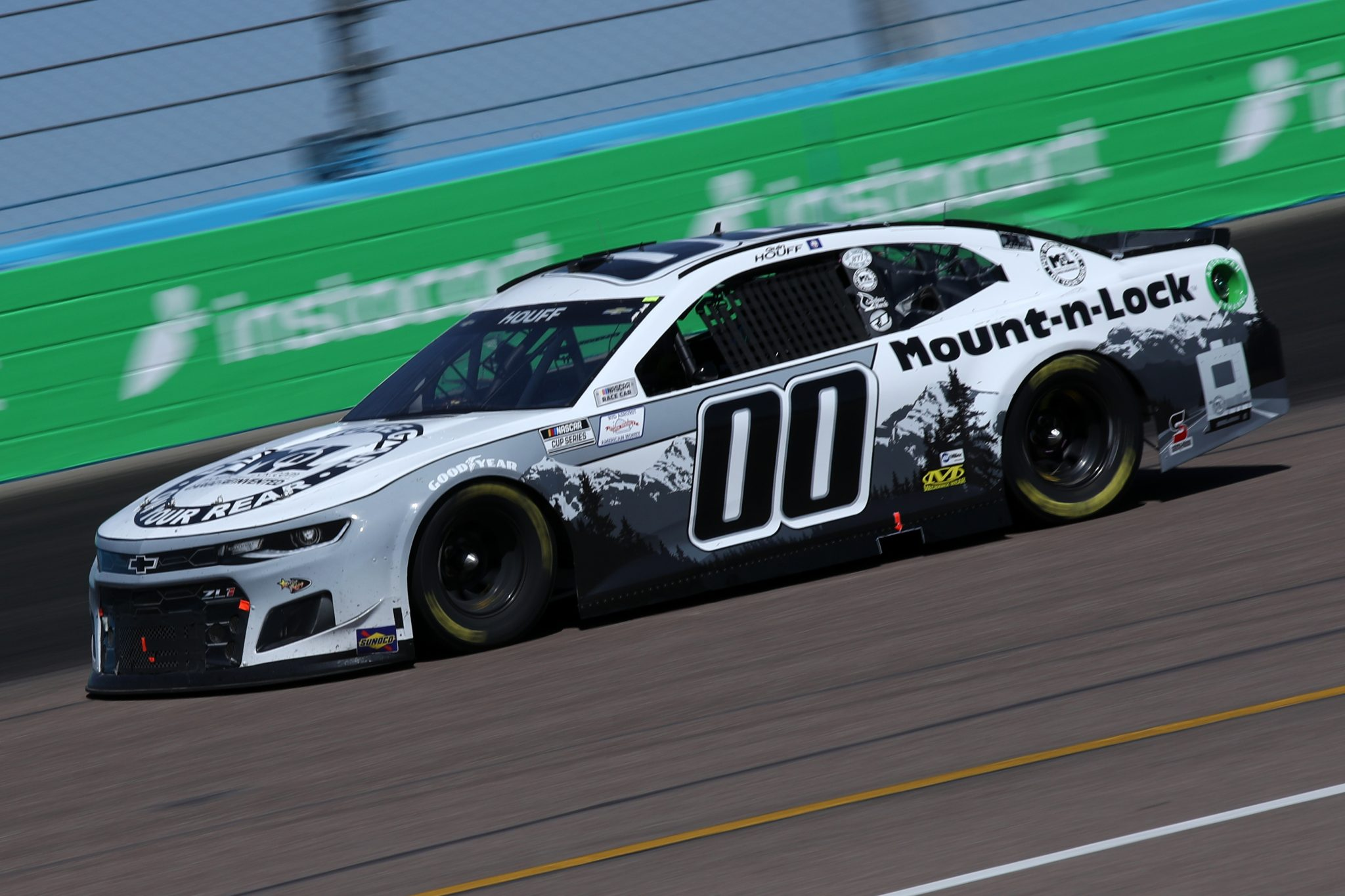 AVONDALE, ARIZONA - MARCH 14: Quin Houff, driver of the #00 Mount-N-Lock Chevrolet, drives during the NASCAR Cup Series Instacart 500 at Phoenix Raceway on March 14, 2021 in Avondale, Arizona. (Photo by Sean Gardner/Getty Images) | Getty Images