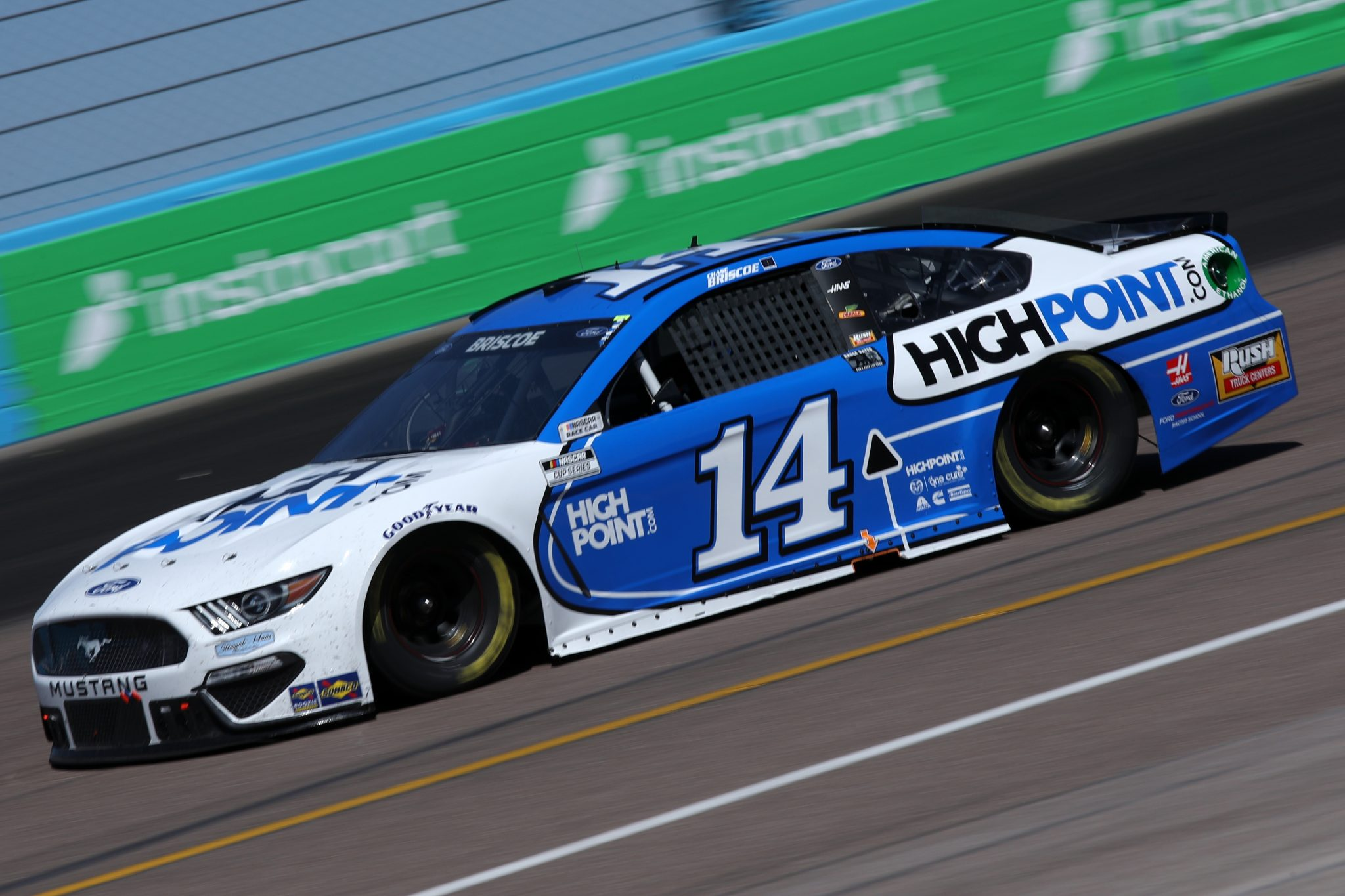 AVONDALE, ARIZONA - MARCH 14: Chase Briscoe, driver of the #14 HighPoint.com Ford, drives during the NASCAR Cup Series Instacart 500 at Phoenix Raceway on March 14, 2021 in Avondale, Arizona. (Photo by Sean Gardner/Getty Images) | Getty Images