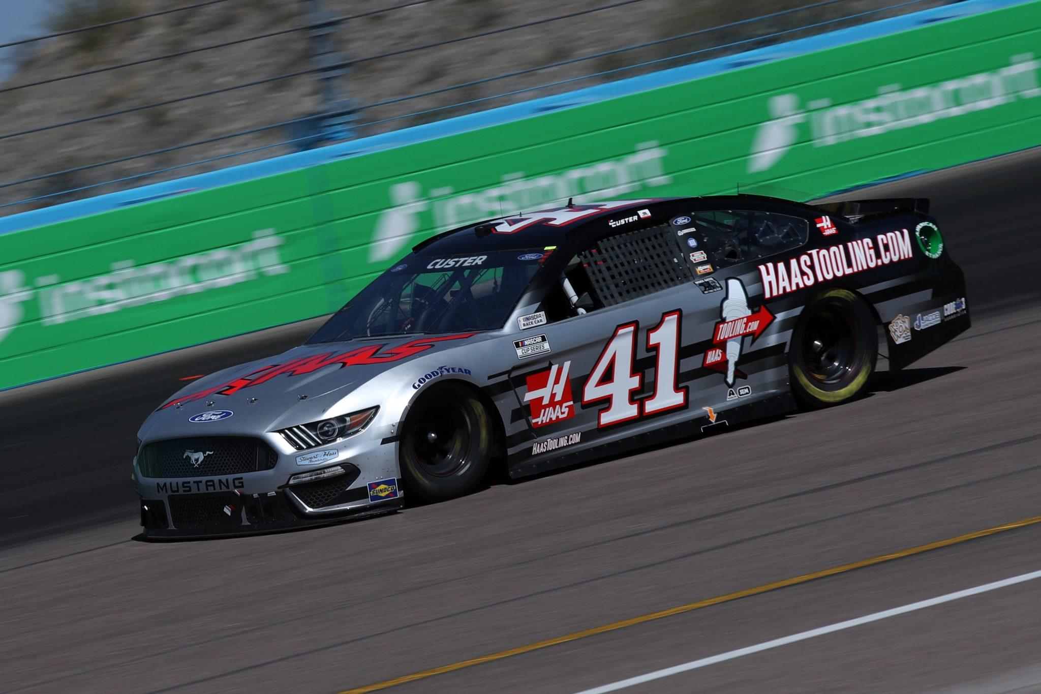 AVONDALE, ARIZONA - MARCH 14: Cole Custer, driver of the #41 HaasTooling.com Ford, drives during the NASCAR Cup Series Instacart 500 at Phoenix Raceway on March 14, 2021 in Avondale, Arizona. (Photo by Sean Gardner/Getty Images) | Getty Images