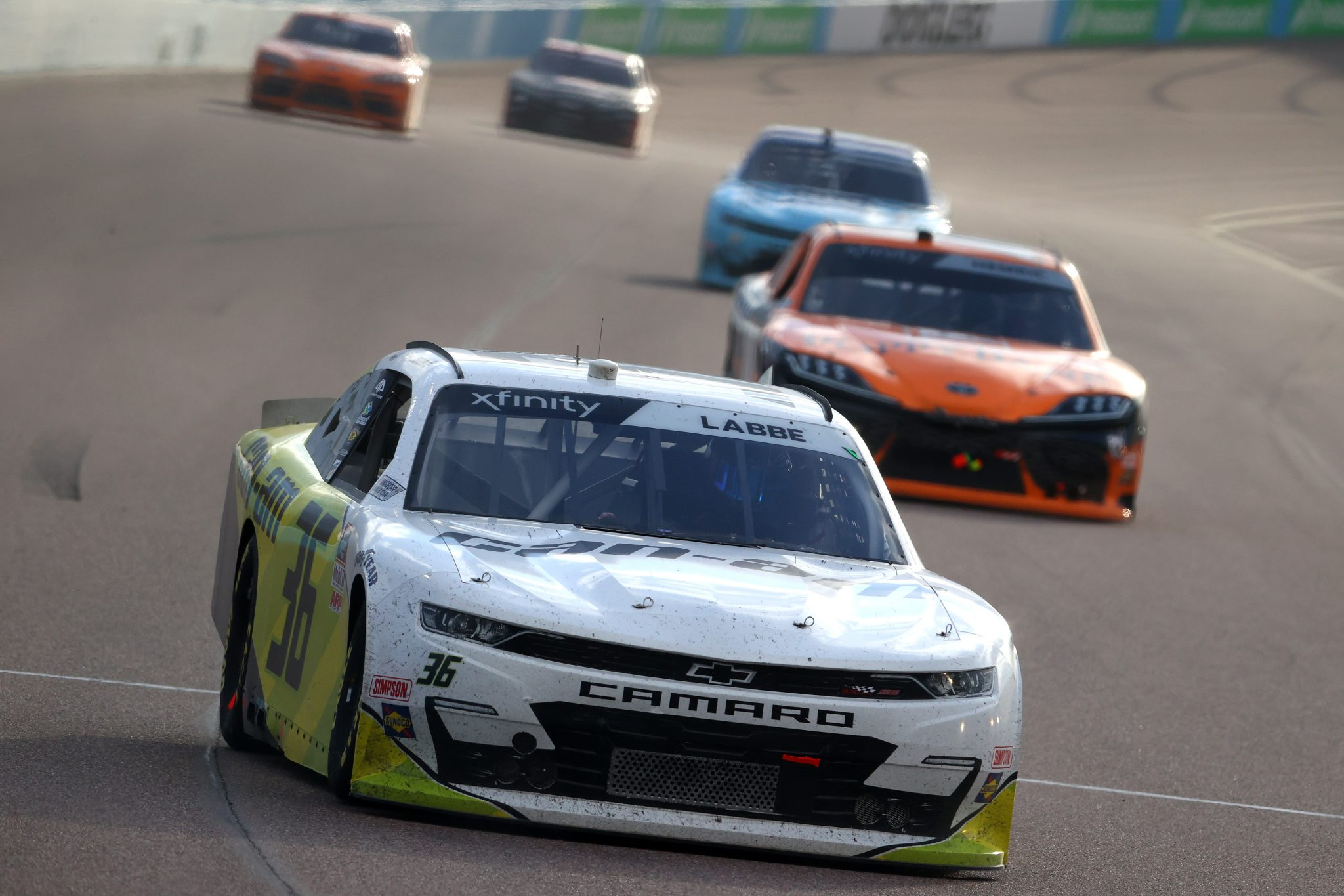 AVONDALE, ARIZONA - MARCH 13: Alex Labbe, driver of the #36 Can-Am Chevrolet, drives during the NASCAR Xfinity Series Call 811 Before You Dig 200 presented by Arizona 811 at Phoenix Raceway on March 13, 2021 in Avondale, Arizona. (Photo by Abbie Parr/Getty Images) | Getty Images