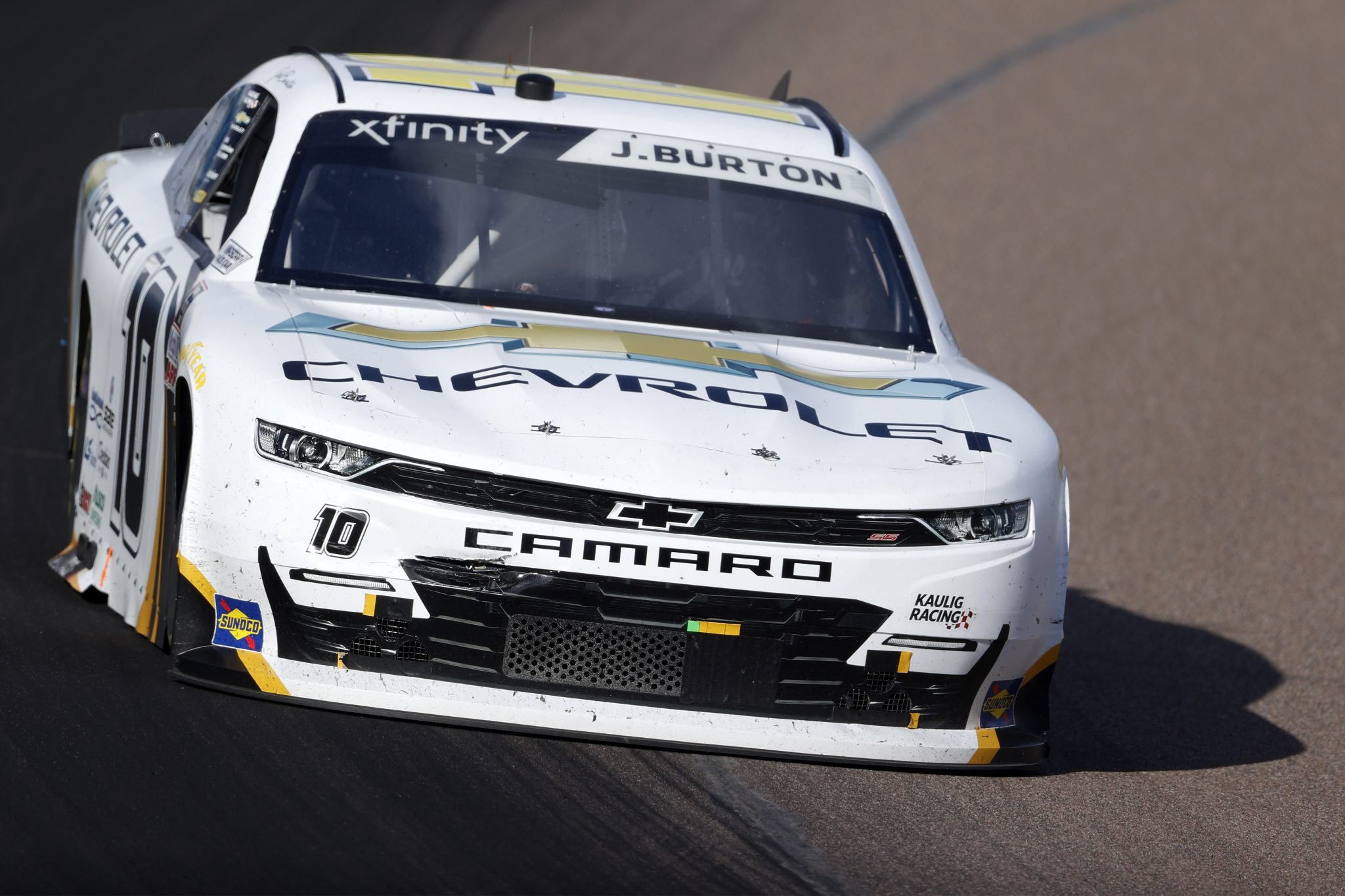 AVONDALE, ARIZONA - MARCH 13: Jeb Burton, driver of the #10 Chevy Accessories Chevrolet, drives during the NASCAR Xfinity Series Call 811 Before You Dig 200 presented by Arizona 811 at Phoenix Raceway on March 13, 2021 in Avondale, Arizona. (Photo by Christian Petersen/Getty Images) | Getty Images