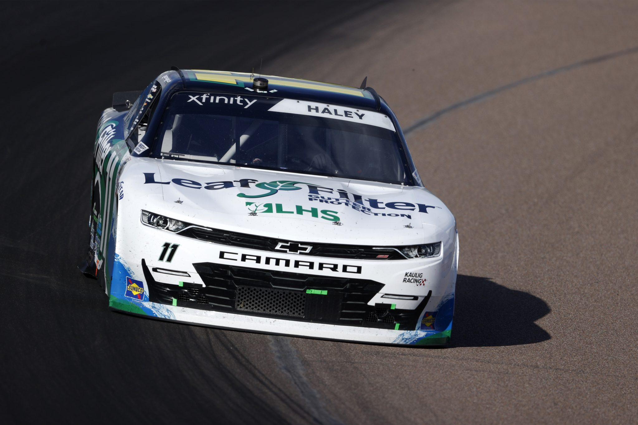 AVONDALE, ARIZONA - MARCH 13: Justin Haley, driver of the #11 LeafFilter Gutter Protection Chevrolet, drives during the NASCAR Xfinity Series Call 811 Before You Dig 200 presented by Arizona 811 at Phoenix Raceway on March 13, 2021 in Avondale, Arizona. (Photo by Christian Petersen/Getty Images) | Getty Images