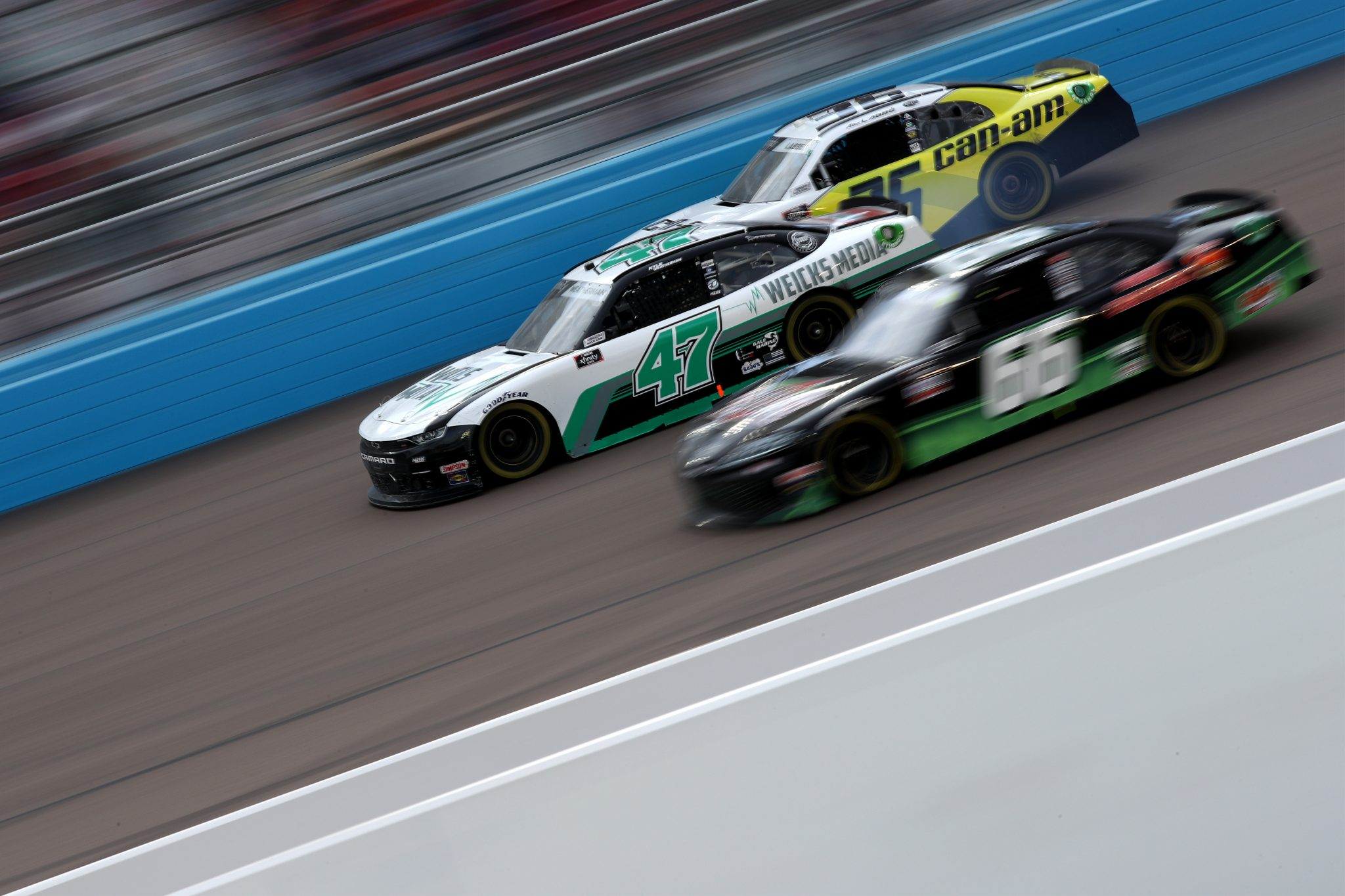AVONDALE, ARIZONA - MARCH 13: Kyle Weatherman, driver of the #47 Weicks Media Chevrolet, drives during the NASCAR Xfinity Series Call 811 Before You Dig 200 presented by Arizona 811 at Phoenix Raceway on March 13, 2021 in Avondale, Arizona. (Photo by Sean Gardner/Getty Images) | Getty Images