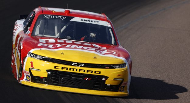 AVONDALE, ARIZONA - MARCH 13: Michael Annett, driver of the #1 Pilot Flying J Chevrolet, drives during the NASCAR Xfinity Series Call 811 Before You Dig 200 presented by Arizona 811 at Phoenix Raceway on March 13, 2021 in Avondale, Arizona. (Photo by Christian Petersen/Getty Images) | Getty Images