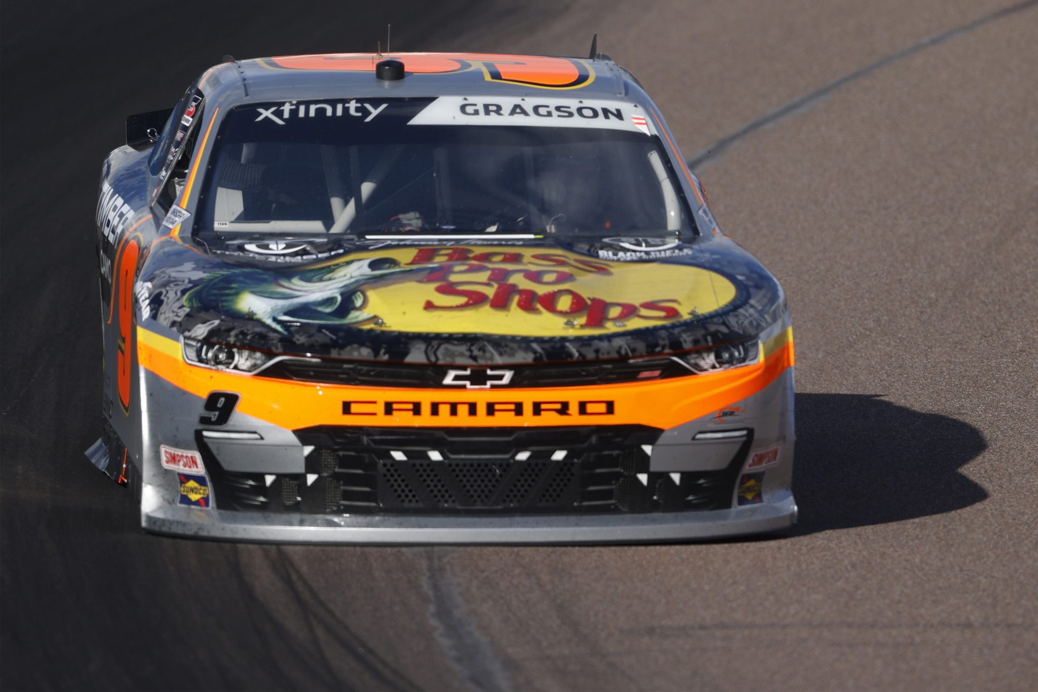 AVONDALE, ARIZONA - MARCH 13: Noah Gragson, driver of the #9 Bass Pro Shops/TrueTimber/BRCC Chevrolet, drives during the NASCAR Xfinity Series Call 811 Before You Dig 200 presented by Arizona 811 at Phoenix Raceway on March 13, 2021 in Avondale, Arizona. (Photo by Christian Petersen/Getty Images) | Getty Images