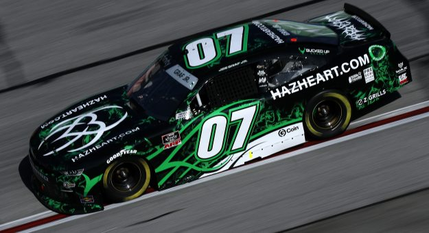HAMPTON, GEORGIA - MARCH 20: Joe Graf Jr., driver of the #07 Hazeheart.com Chevrolet, drives during the NASCAR Xfinity Series EchoPark 250 at Atlanta Motor Speedway on March 20, 2021 in Hampton, Georgia. (Photo by Sean Gardner/Getty Images) | Getty Images