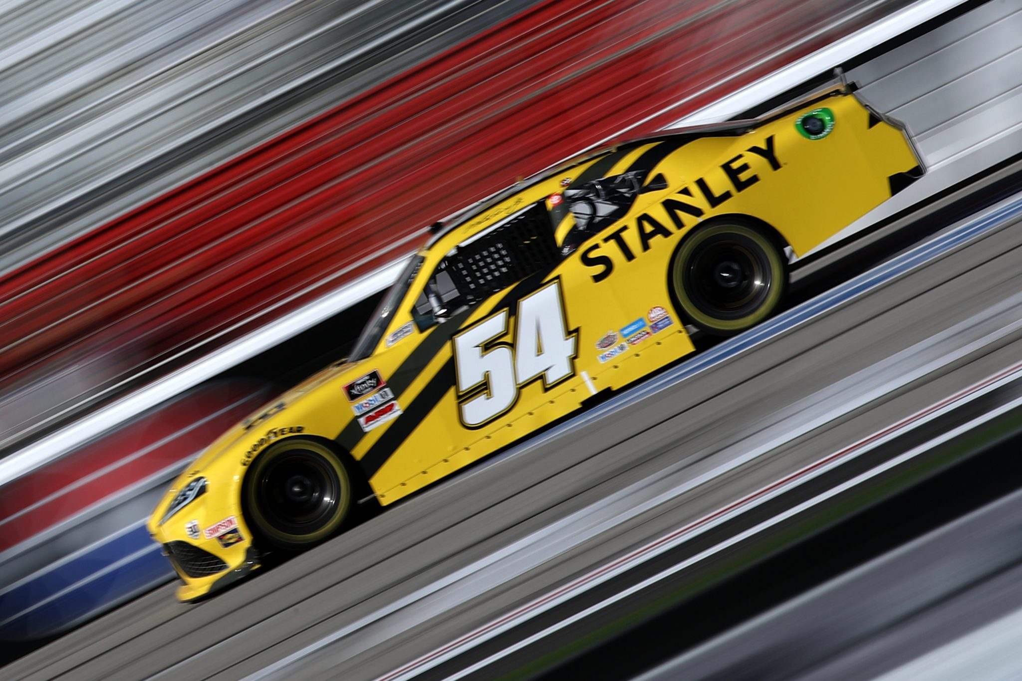 HAMPTON, GEORGIA - MARCH 20: Martin Truex Jr., driver of the #54 STANLEY Toyota, drives during the NASCAR Xfinity Series EchoPark 250 at Atlanta Motor Speedway on March 20, 2021 in Hampton, Georgia. (Photo by Sean Gardner/Getty Images) | Getty Images