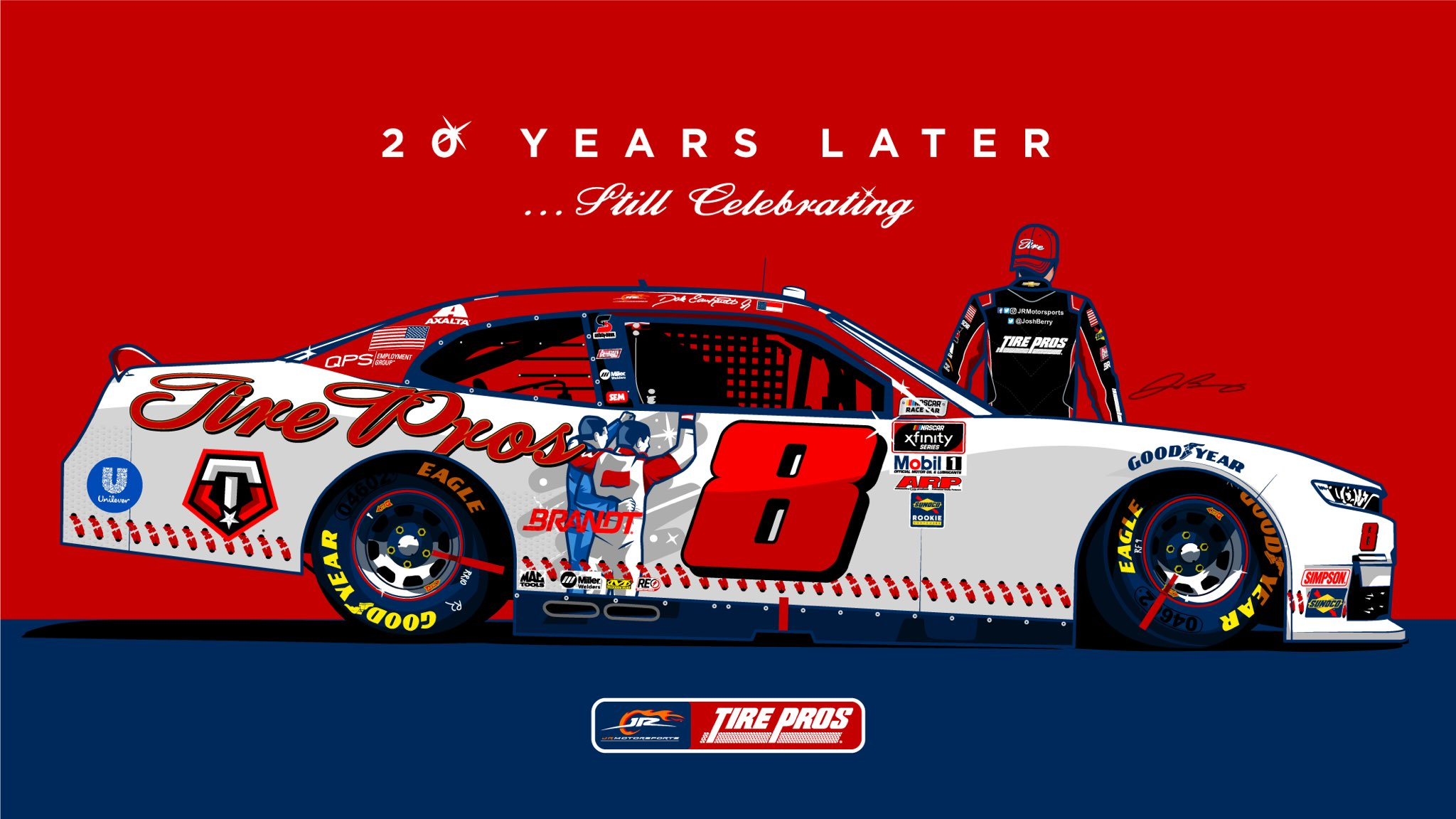 Josh Berry Darlington Throwback