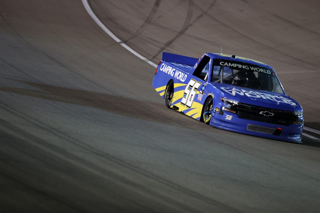 LAS VEGAS, NEVADA - MARCH 05: t56during the NASCAR Camping World Truck Series Bucked Up 200 at The Bullring at Las Vegas Motor Speedway on March 05, 2021 in Las Vegas, Nevada. (Photo by Abbie Parr/Getty Images) | Getty Images