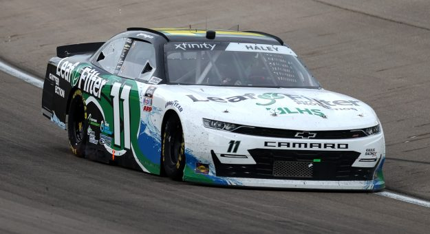 LAS VEGAS, NEVADA - MARCH 06: Justin Haley, driver of the #11 LeafFilter Gutter Protection Chevrolet, drives during the NASCAR Xfinity Series Alsco Uniforms 300 at The Bullring at Las Vegas Motor Speedway on March 06, 2021 in Las Vegas, Nevada. (Photo by Abbie Parr/Getty Images) | Getty Images