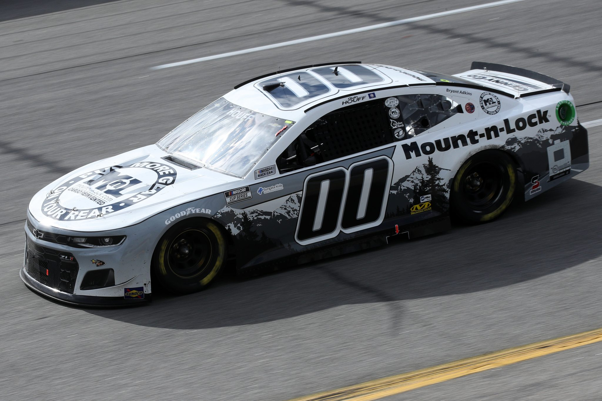 RICHMOND, VIRGINIA - APRIL 18: Quin Houff, driver of the #00 Mount-N-Lock Chevrolet, drives during the NASCAR Cup Series Toyota Owners 400 at Richmond Raceway on April 18, 2021 in Richmond, Virginia. (Photo by Sean Gardner/Getty Images) | Getty Images
