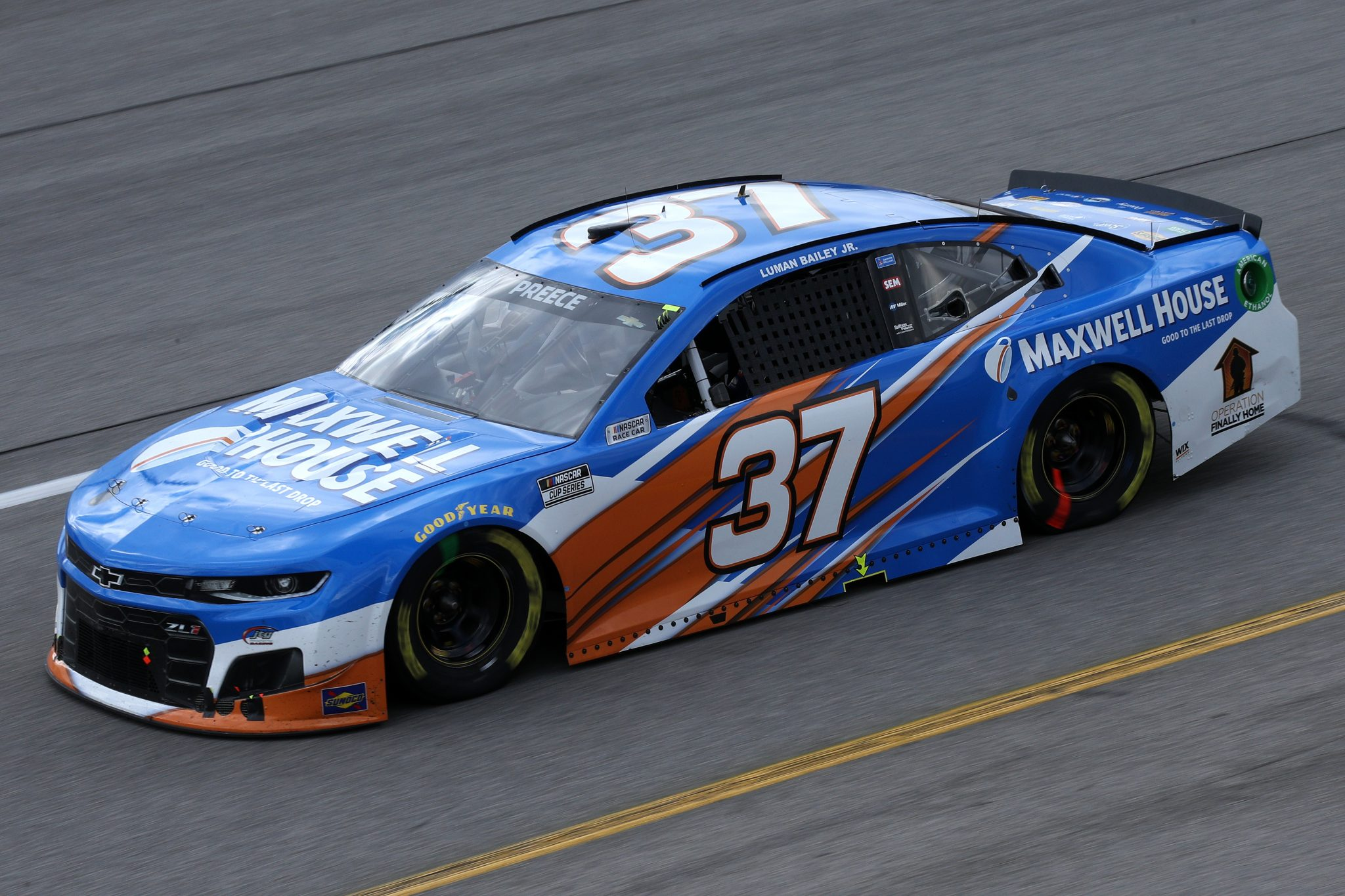RICHMOND, VIRGINIA - APRIL 18: Ryan Preece, driver of the #37 Maxwell House Chevrolet, drives during the NASCAR Cup Series Toyota Owners 400 at Richmond Raceway on April 18, 2021 in Richmond, Virginia. (Photo by Sean Gardner/Getty Images)   Getty Images