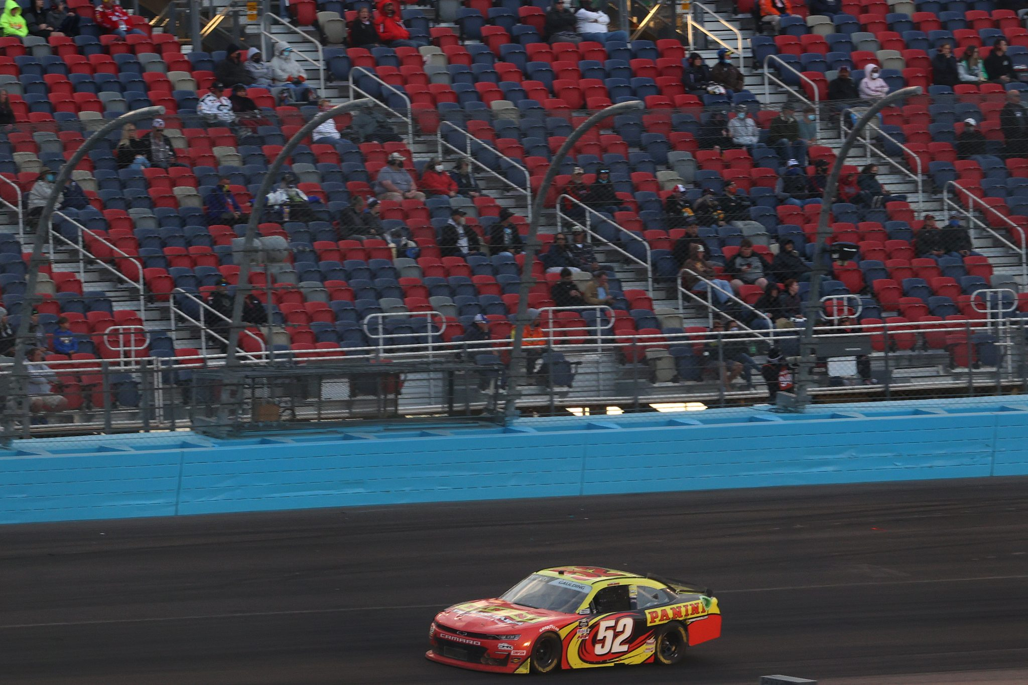 AVONDALE, ARIZONA - MARCH 13: Gray Gaulding, driver of the #52 Means Motorsports Chevrolet Camaro, drives during the NASCAR Xfinity Series Call 811 Before You Dig 200 presented by Arizona 811 at Phoenix Raceway on March 13, 2021 in Avondale, Arizona. (Photo by Abbie Parr/Getty Images) | Getty Images