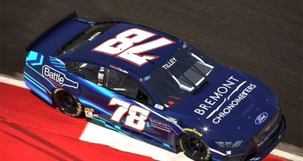 Kyle Tilley to run four Cup races for Live Fast Motorsports