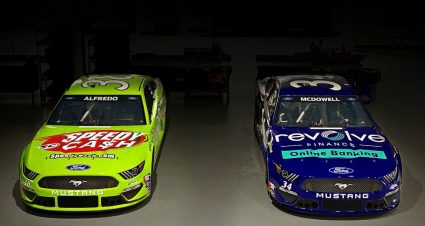 Speedy Cash and Revolve Finance sponsoring both Front Row entries at Dover