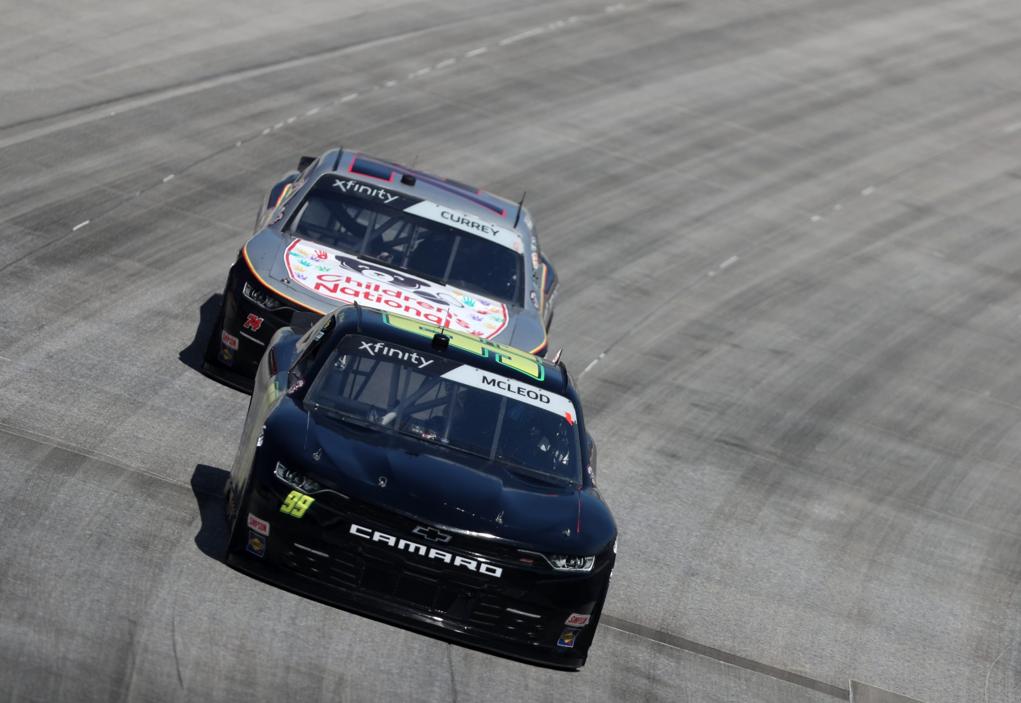 DOVER, DELAWARE - MAY 15: BJ McLeod, driver of the #99 Toyota, races during the NASCAR Xfinity Series Drydene 200 race at Dover International Speedway on May 15, 2021 in Dover, Delaware. (Photo by James Gilbert/Getty Images) | Getty Images
