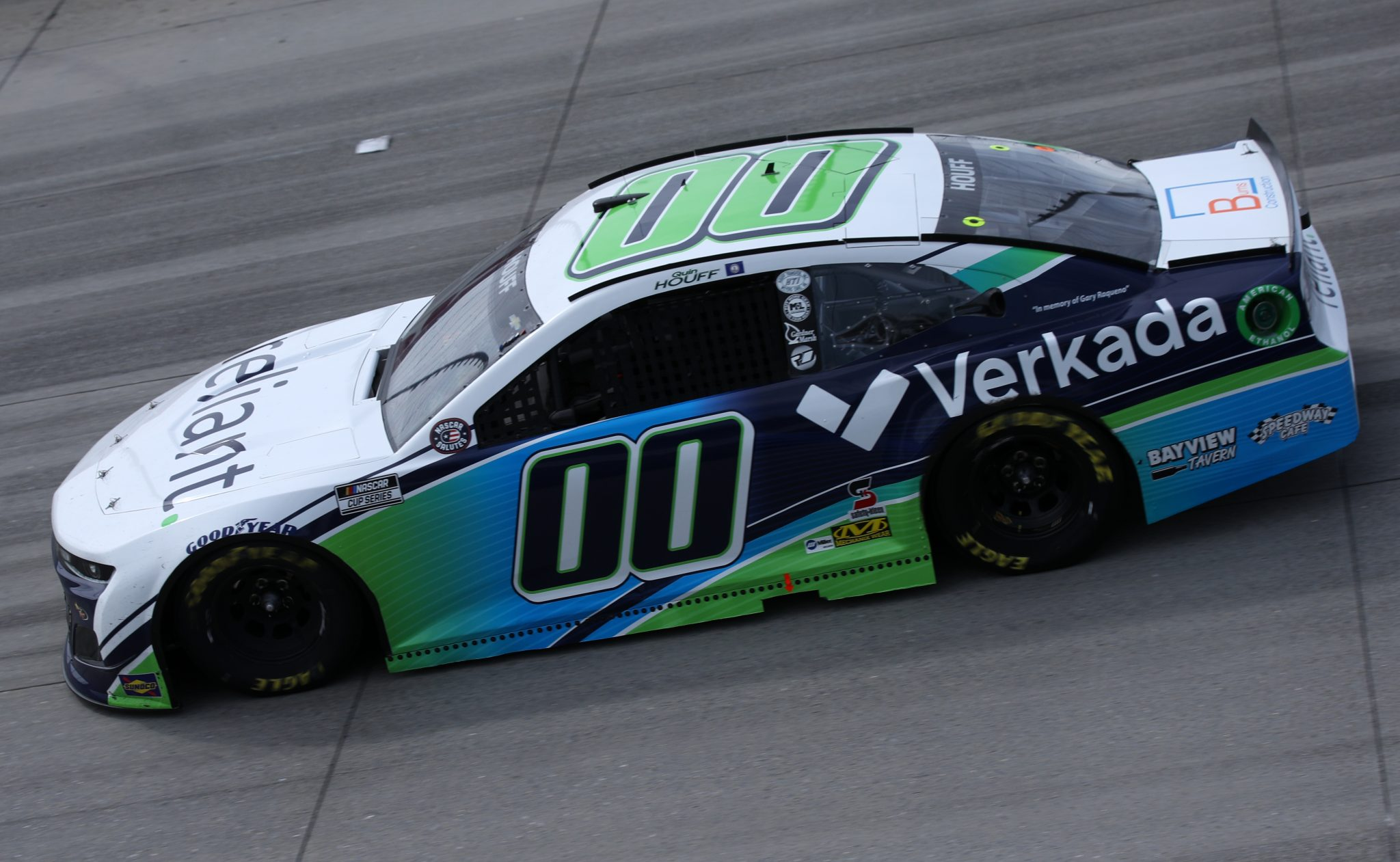 DOVER, DELAWARE - MAY 16: Quin Houff, driver of the #00 Reliant/Verkada Chevrolet, races during the NASCAR Cup Series Drydene 400 at Dover International Speedway on May 16, 2021 in Dover, Delaware. (Photo by Sean Gardner/Getty Images) | Getty Images