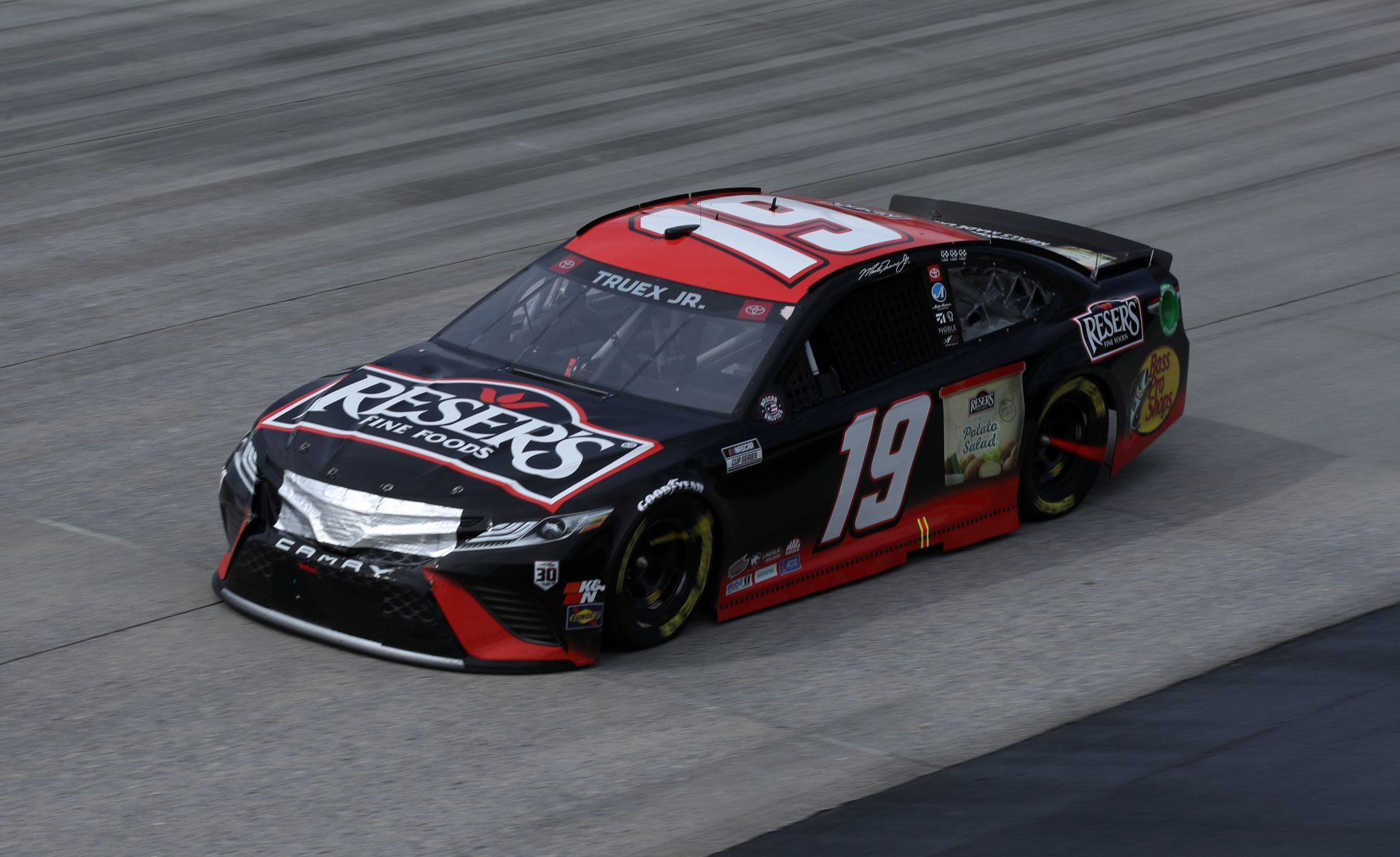 DOVER, DELAWARE - MAY 16: Martin Truex Jr., driver of the #19 Reser's Fine Foods Toyota, races during the NASCAR Cup Series Drydene 400 at Dover International Speedway on May 16, 2021 in Dover, Delaware. (Photo by Sean Gardner/Getty Images) | Getty Images