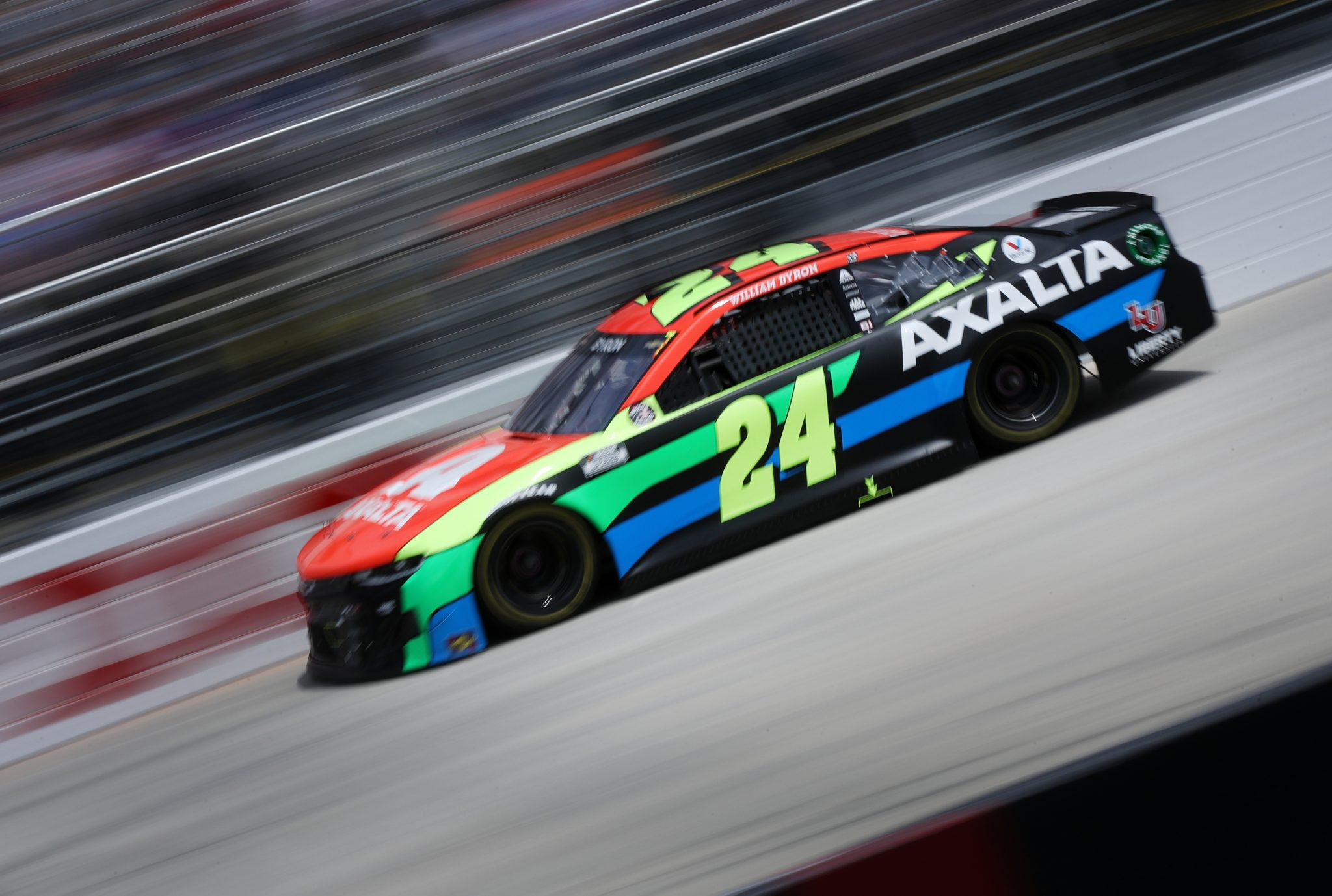 DOVER, DELAWARE - MAY 16: William Byron, driver of the #24 Axalta Chevrolet, races during the NASCAR Cup Series Drydene 400 at Dover International Speedway on May 16, 2021 in Dover, Delaware. (Photo by Sean Gardner/Getty Images) | Getty Images