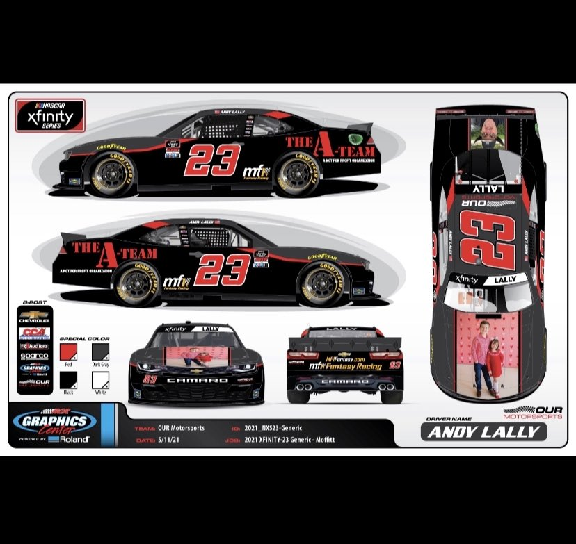 Andy Lally Cota Paint Scheme