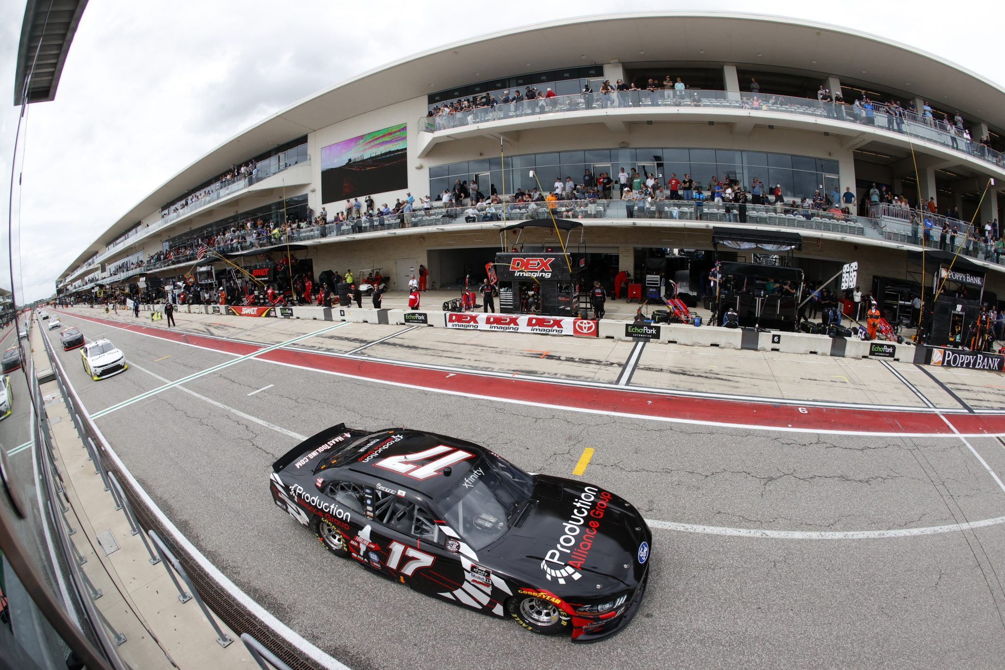 AUSTIN, TEXAS - MAY 22: Cole Custer, driver of the #17 Production Alliance Group Ford, drives during the NASCAR Xfinity Series Pit Boss 250 at Circuit of The Americas on May 22, 2021 in Austin, Texas. (Photo by Chris Graythen/Getty Images) | Getty Images