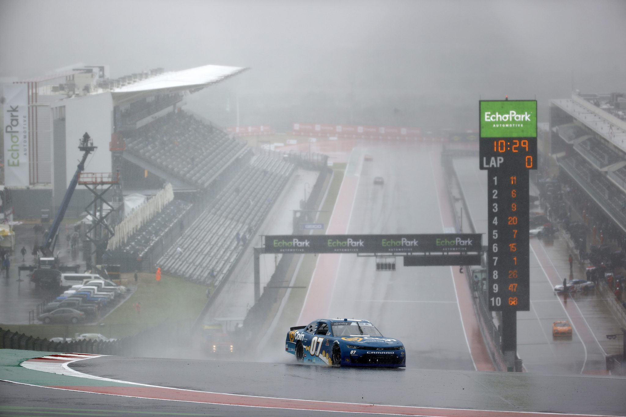 AUSTIN, TEXAS - MAY 22: Joe Graf Jr, driver of the #07 G Coin Chevrolet, drives during qualifying for the NASCAR Xfinity Series Pit Boss 250 at Circuit of The Americas on May 22, 2021 in Austin, Texas. (Photo by Jared C. Tilton/Getty Images) | Getty Images