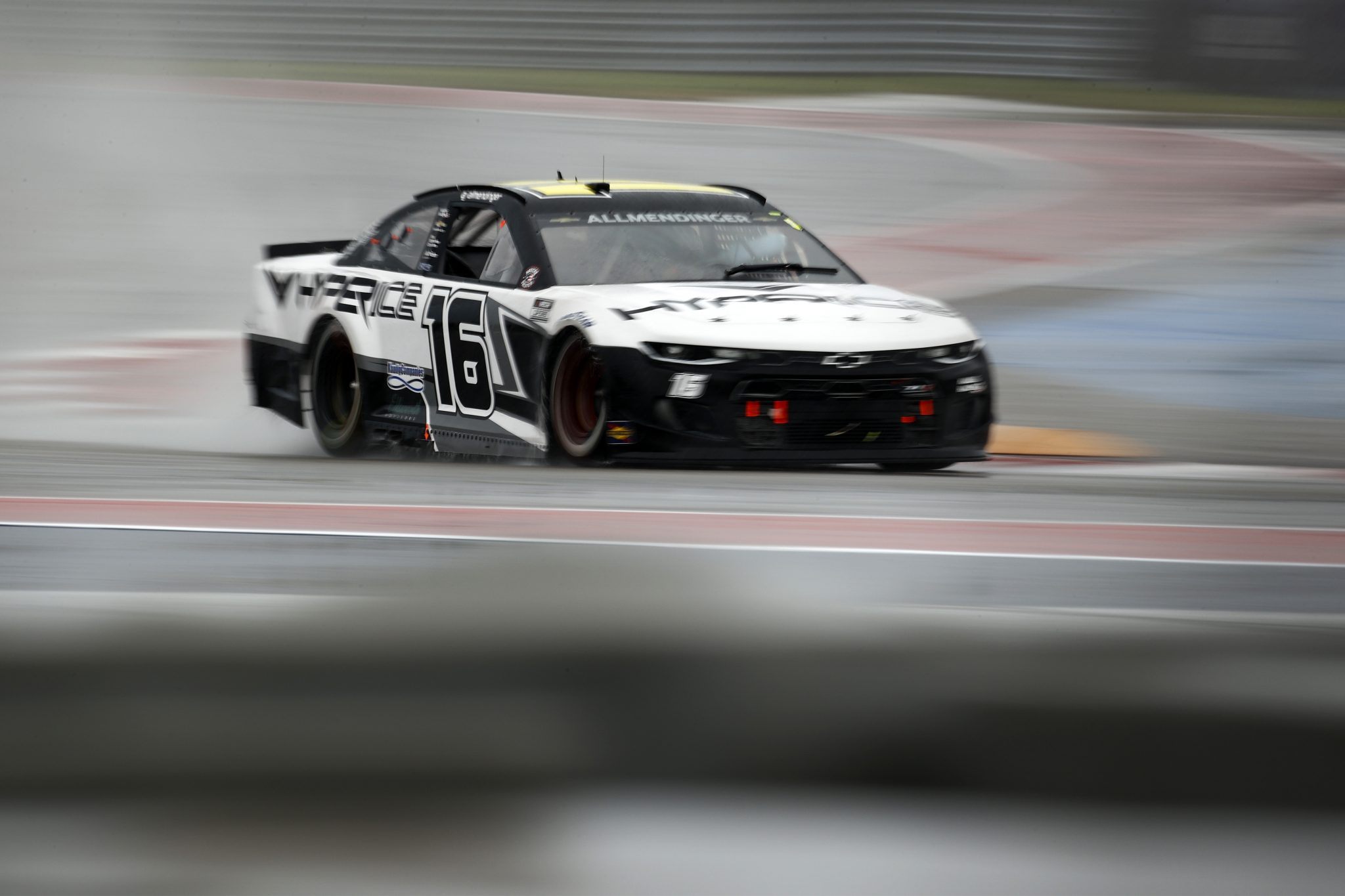 AUSTIN, TEXAS - MAY 23: AJ Allmendinger, driver of the #16 Hyperice Chevrolet, drives during the NASCAR Cup Series EchoPark Texas Grand Prix at Circuit of The Americas on May 23, 2021 in Austin, Texas. (Photo by Jared C. Tilton/Getty Images)   Getty Images