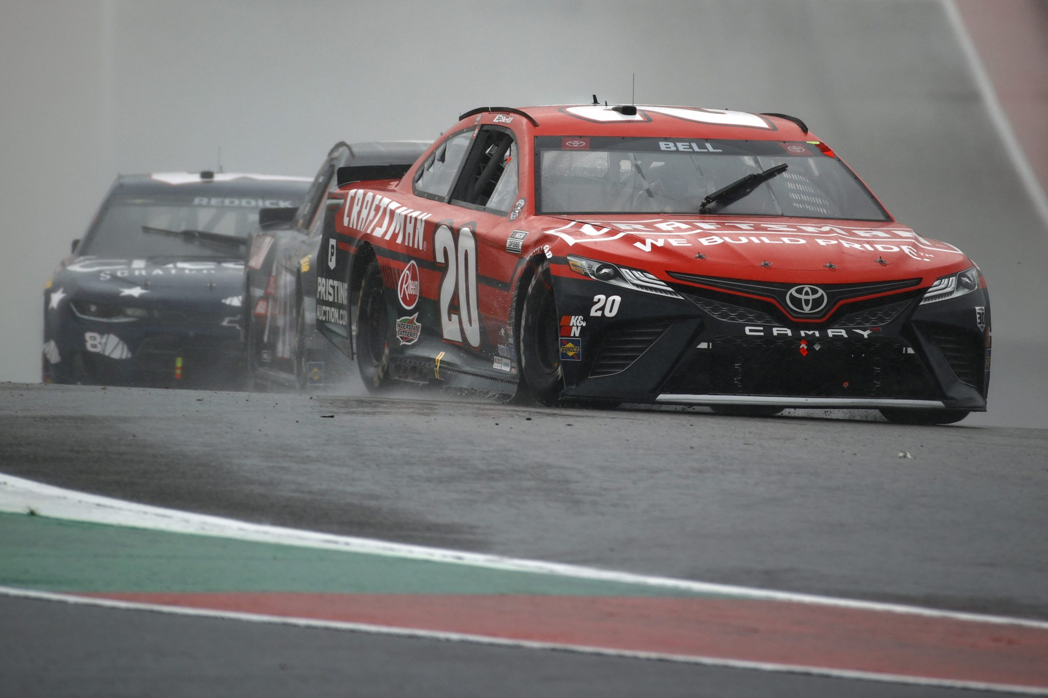 AUSTIN, TEXAS - MAY 23: Christopher Bell, driver of the #20 Craftsman Toyota, drives during the NASCAR Cup Series EchoPark Texas Grand Prix at Circuit of The Americas on May 23, 2021 in Austin, Texas. (Photo by Jared C. Tilton/Getty Images) | Getty Images