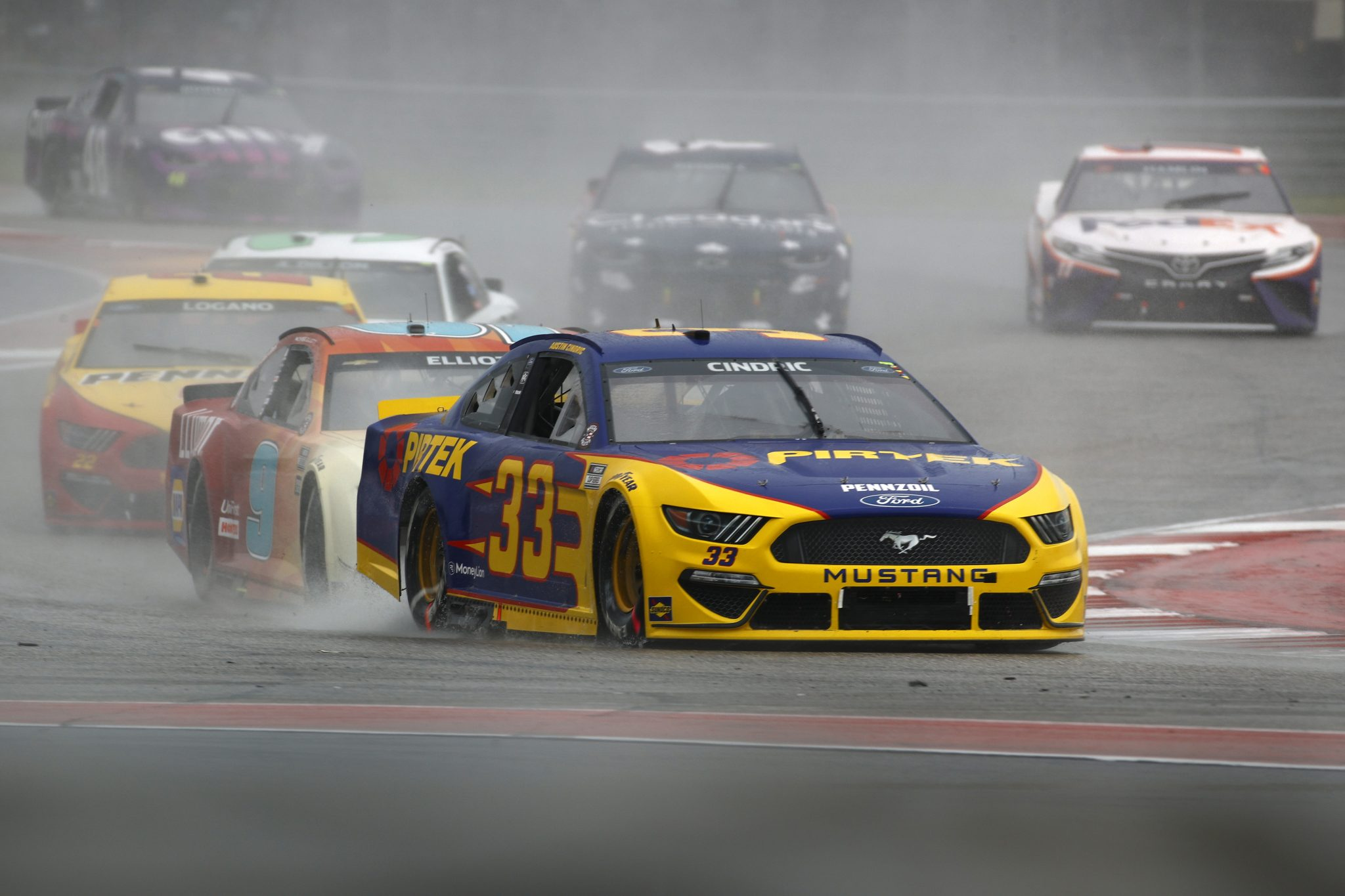 AUSTIN, TEXAS - MAY 23: Austin Cindric, driver of the #33 Pirtek Ford, drives during the NASCAR Cup Series EchoPark Texas Grand Prix at Circuit of The Americas on May 23, 2021 in Austin, Texas. (Photo by Jared C. Tilton/Getty Images)   Getty Images