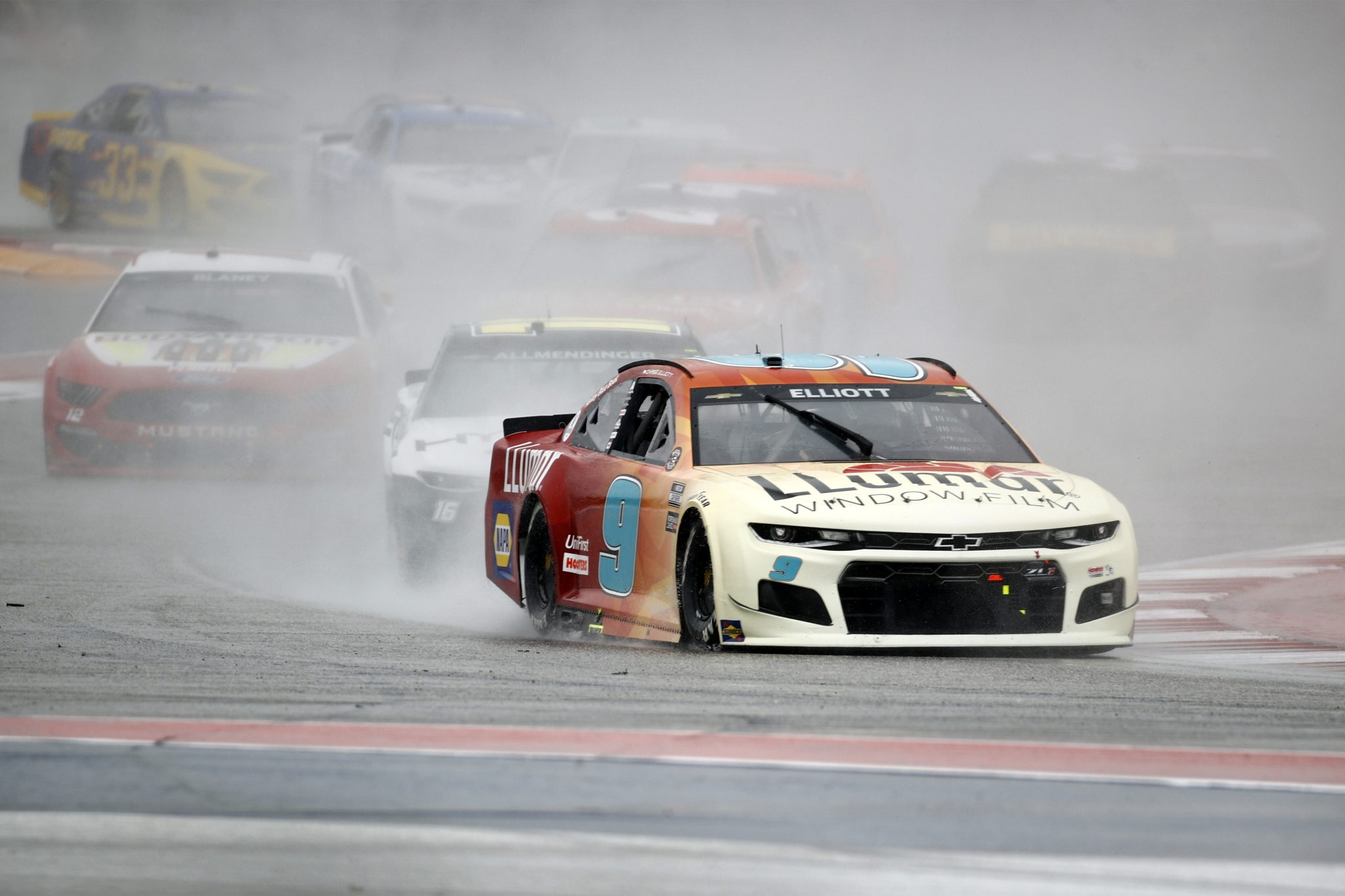AUSTIN, TEXAS - MAY 23: Chase Elliott, driver of the #9 Llumar Chevrolet, drives during the NASCAR Cup Series EchoPark Texas Grand Prix at Circuit of The Americas on May 23, 2021 in Austin, Texas. (Photo by Jared C. Tilton/Getty Images)   Getty Images