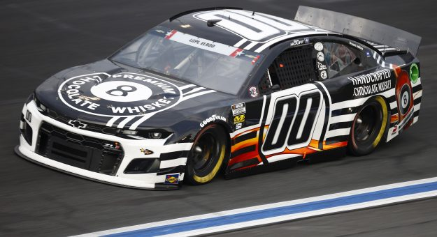 CONCORD, NORTH CAROLINA - MAY 28: Quin Houff, driver of the #00 8 Ball Chocolate Whiskey Chevrolet, drives during practice for the NASCAR Cup Series Coca-Cola 600 at Charlotte Motor Speedway on May 28, 2021 in Concord, North Carolina. (Photo by Jared C. Tilton/Getty Images)   Getty Images