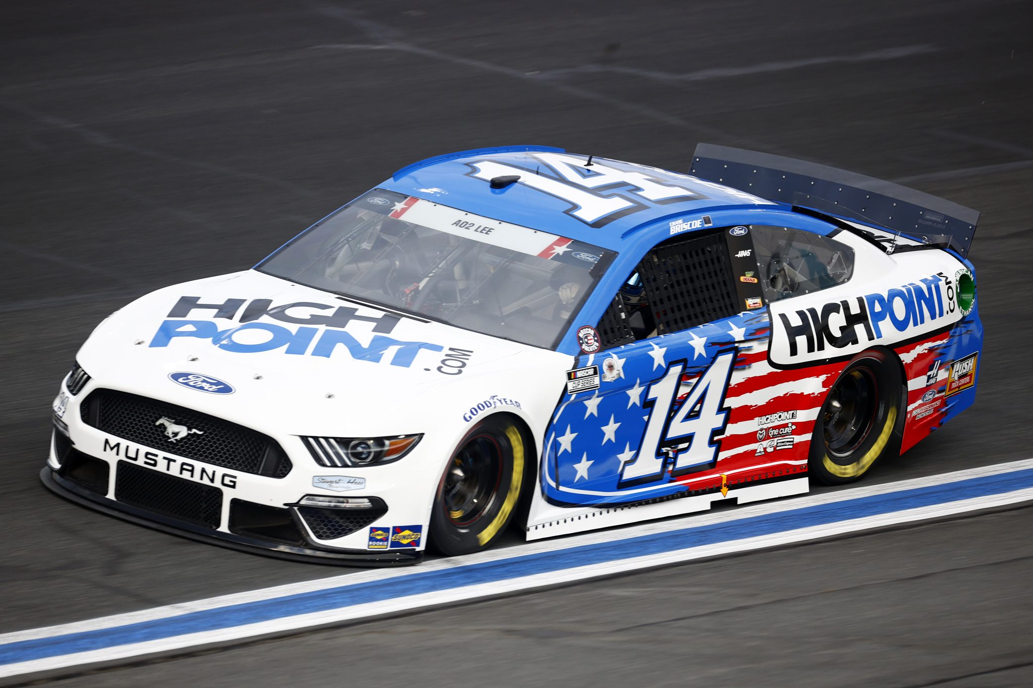 CONCORD, NORTH CAROLINA - MAY 28: Chase Briscoe, driver of the #14 HighPoint.com Ford, drives during practice for the NASCAR Cup Series Coca-Cola 600 at Charlotte Motor Speedway on May 28, 2021 in Concord, North Carolina. (Photo by Jared C. Tilton/Getty Images) | Getty Images