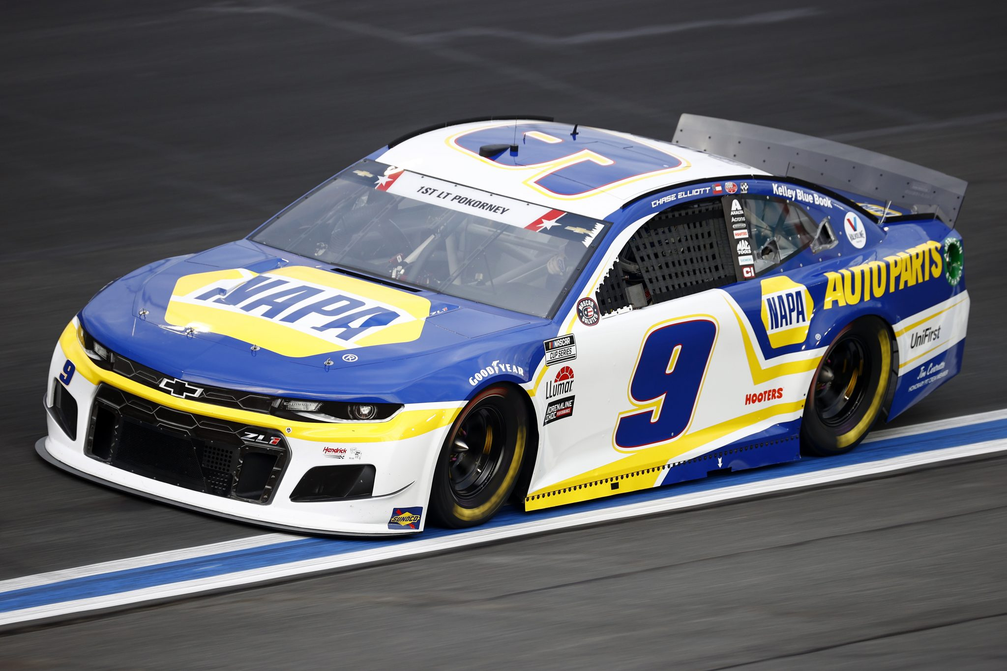 CONCORD, NORTH CAROLINA - MAY 28: Chase Elliott, driver of the #9 NAPA Auto Parts Chevrolet, drives during practice for the NASCAR Cup Series Coca-Cola 600 at Charlotte Motor Speedway on May 28, 2021 in Concord, North Carolina. (Photo by Jared C. Tilton/Getty Images) | Getty Images