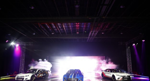 CHARLOTTE, NORTH CAROLINA - MAY 05: NASCAR unveils the seventh generation of the NASCAR Cup Series Chevrolet, Ford and Toyota cars during the NASCAR Next Gen Car Announcement on May 05, 2021 in Charlotte, North Carolina. (Photo by Jared C. Tilton/Getty Images) | Getty Images