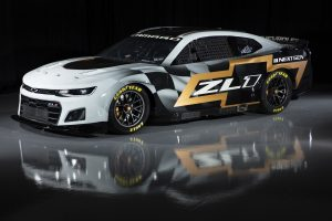 CONCORD, NORTH CAROLINA - APRIL 22: The 2022 NASCAR Next Gen Chevrolet Camaro is previewed at NASCAR R&D Center on April 22, 2021 in Concord, North Carolina. (Photo by Jared C. Tilton/Getty Images) | Getty Images