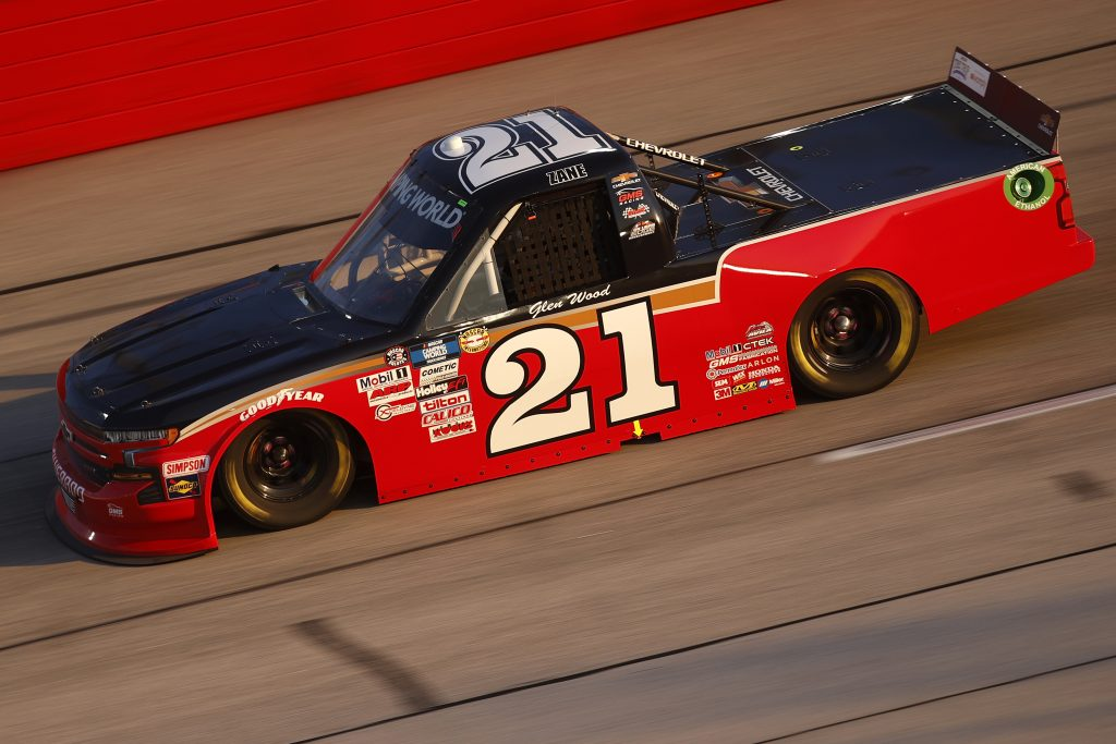 DARLINGTON, SOUTH CAROLINA - MAY 07: Zane Smith, driver of the #21 Chevrolet, drives during the NASCAR Camping World Truck Series LiftKits4Less.com 200 at Darlington Raceway on May 07, 2021 in Darlington, South Carolina. (Photo by Chris Graythen/Getty Images) | Getty Images