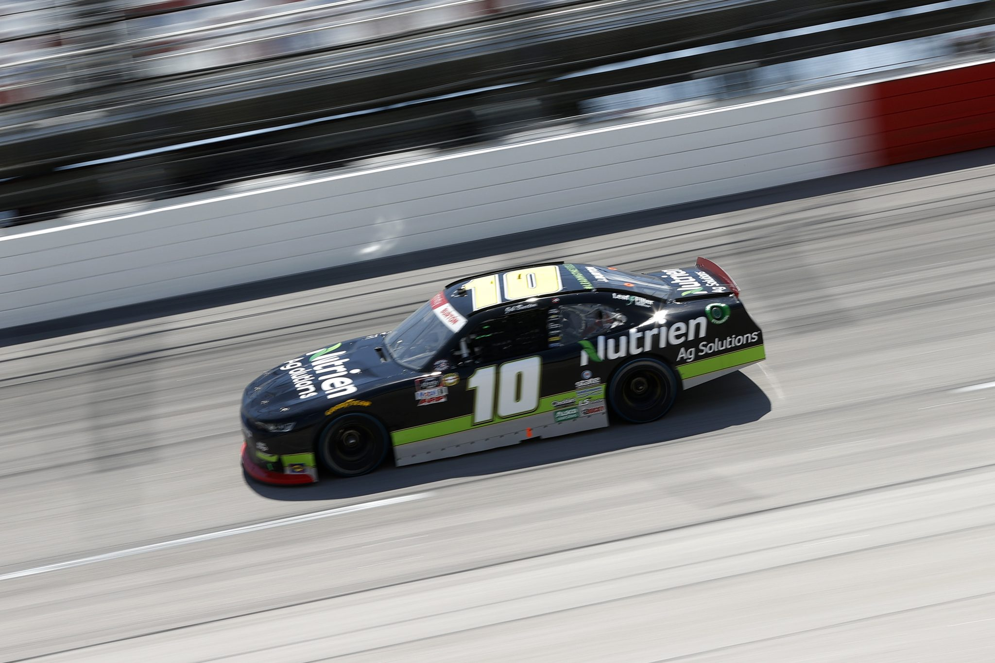 DARLINGTON, SOUTH CAROLINA - MAY 08: Jeb Burton, driver of the #10 Nutrien Ag Solutions Chevrolet, drives during the NASCAR Xfinity Series Steakhouse Elite 200 at Darlington Raceway on May 08, 2021 in Darlington, South Carolina. (Photo by Chris Graythen/Getty Images) | Getty Images
