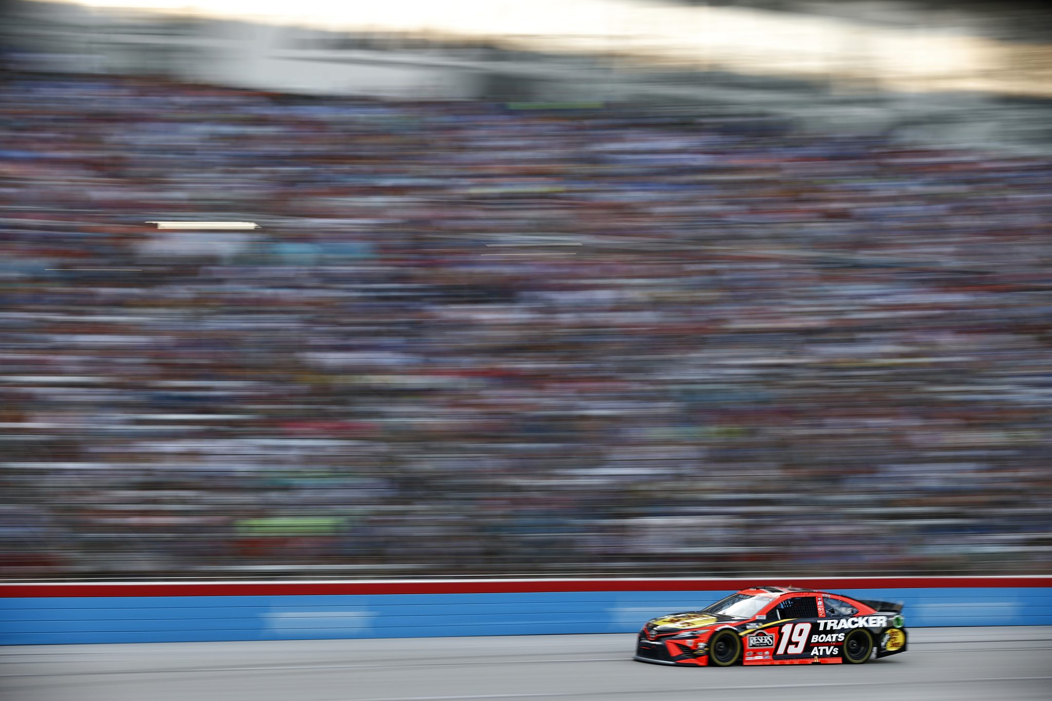 FORT WORTH, TEXAS - JUNE 13: Martin Truex Jr., driver of the #19 Bass Pro Toyota, drives during the NASCAR All-Star Race at Texas Motor Speedway on June 13, 2021 in Fort Worth, Texas. (Photo by Jared C. Tilton/Getty Images) | Getty Images