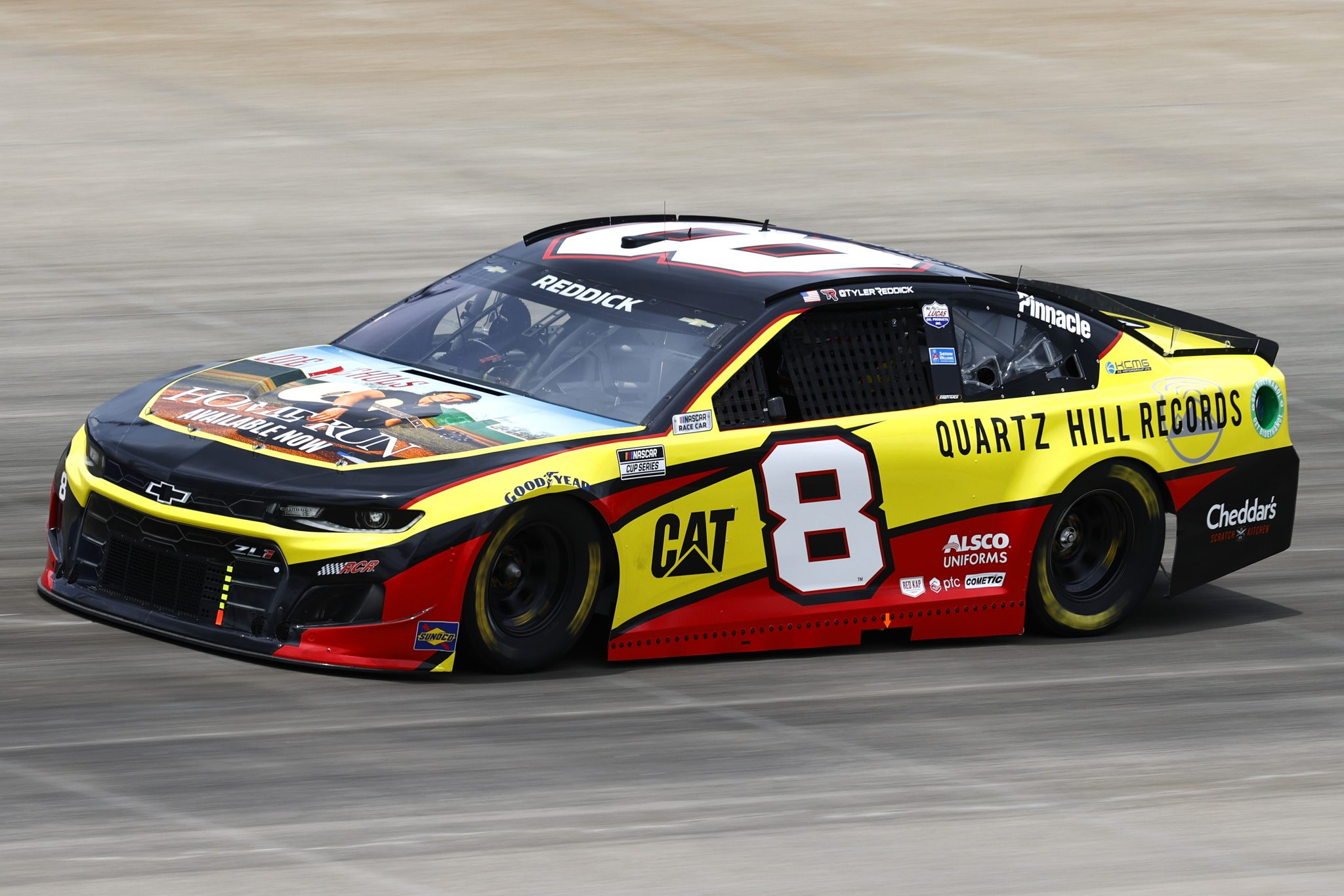 LEBANON, TENNESSEE - JUNE 19: Tyler Reddick, driver of the #8 Quartz Hill Records Chevrolet, drives during practice for the NASCAR Cup Series Ally 400 at Nashville Superspeedway on June 19, 2021 in Lebanon, Tennessee. (Photo by Jared C. Tilton/Getty Images)   Getty Images